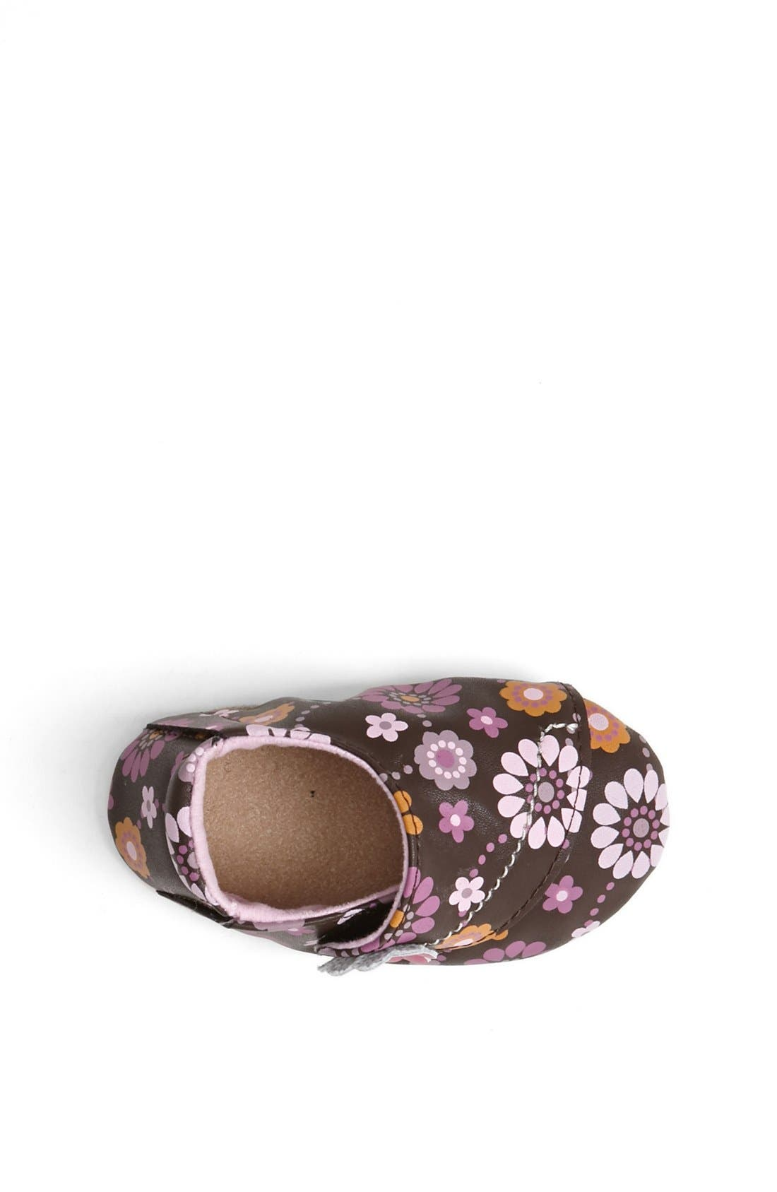 Alternate Image 3  - Stride Rite 'Floral Fun' Crib Shoe (Baby Girls)