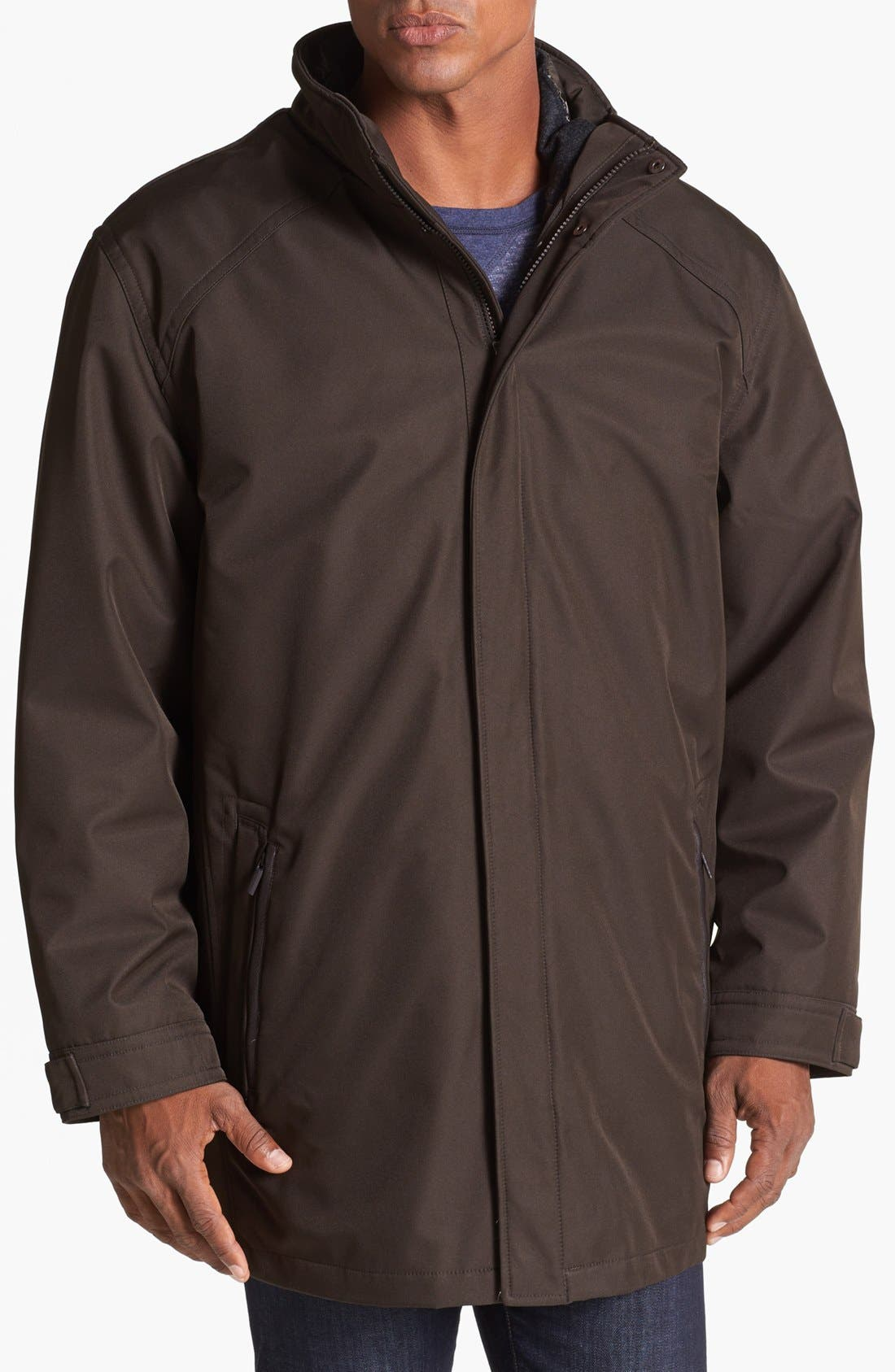 Alternate Image 1 Selected - RAINFOREST 3-in-1 Micro Twill Jacket
