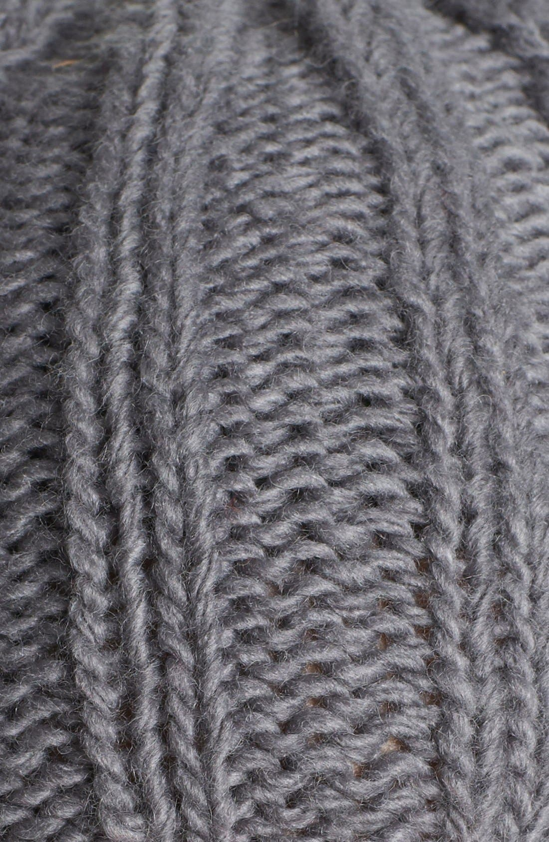 Alternate Image 2  - August Hat Owl Ear Knit Cap