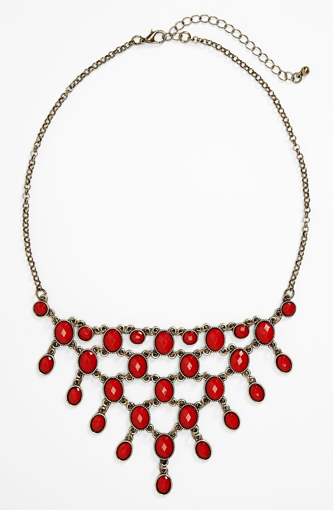 Alternate Image 1 Selected - Carole Beaded Cascade Necklace (Juniors)