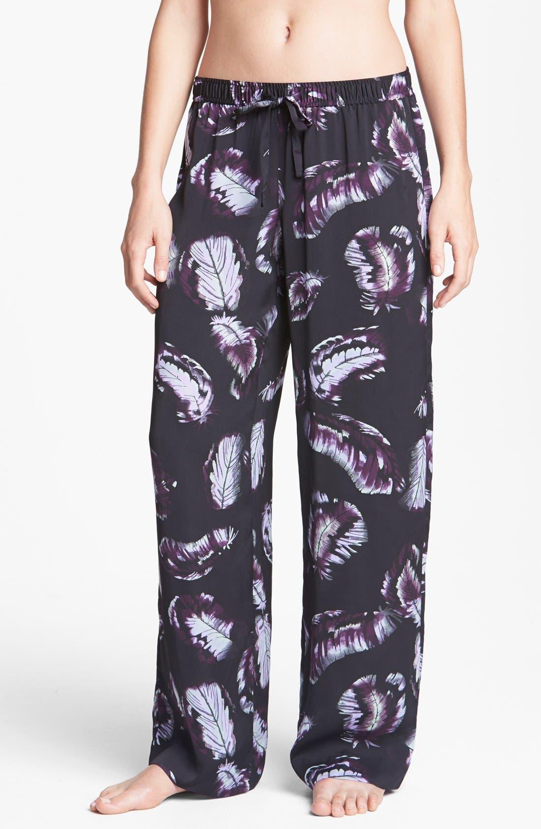 Alternate Image 1 Selected - Shimera Silky Woven Lounge Pants