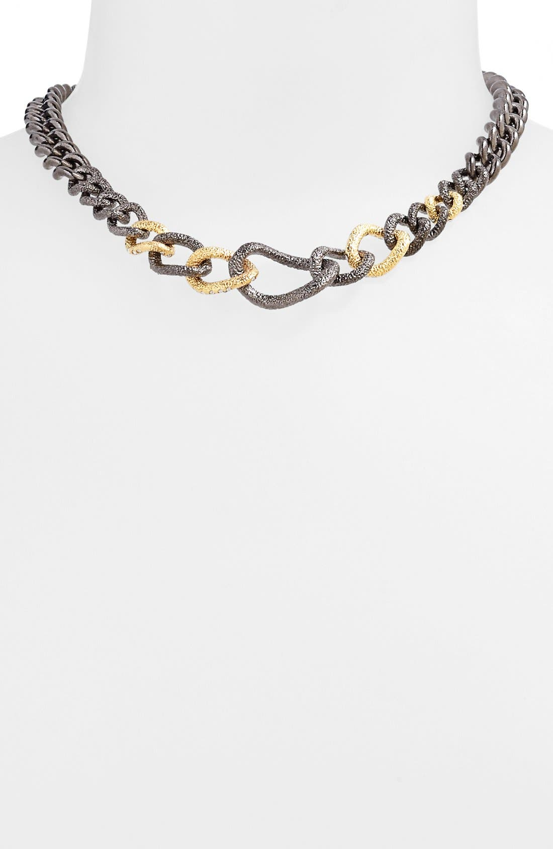Alternate Image 1 Selected - Alexis Bittar 'Elements - Jardin de Papillon' Link Collar Necklace