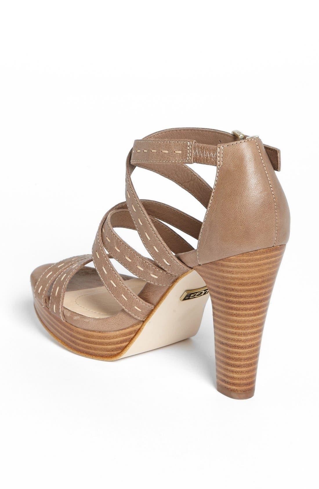 Alternate Image 2  - UGG® Australia 'Foxe' Sandal