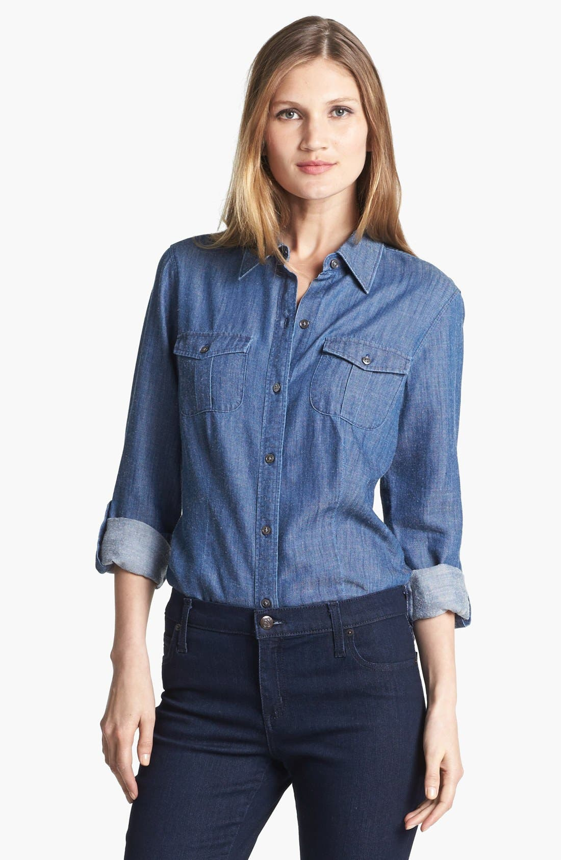 Alternate Image 1 Selected - Shirt 469 Denim Shirt