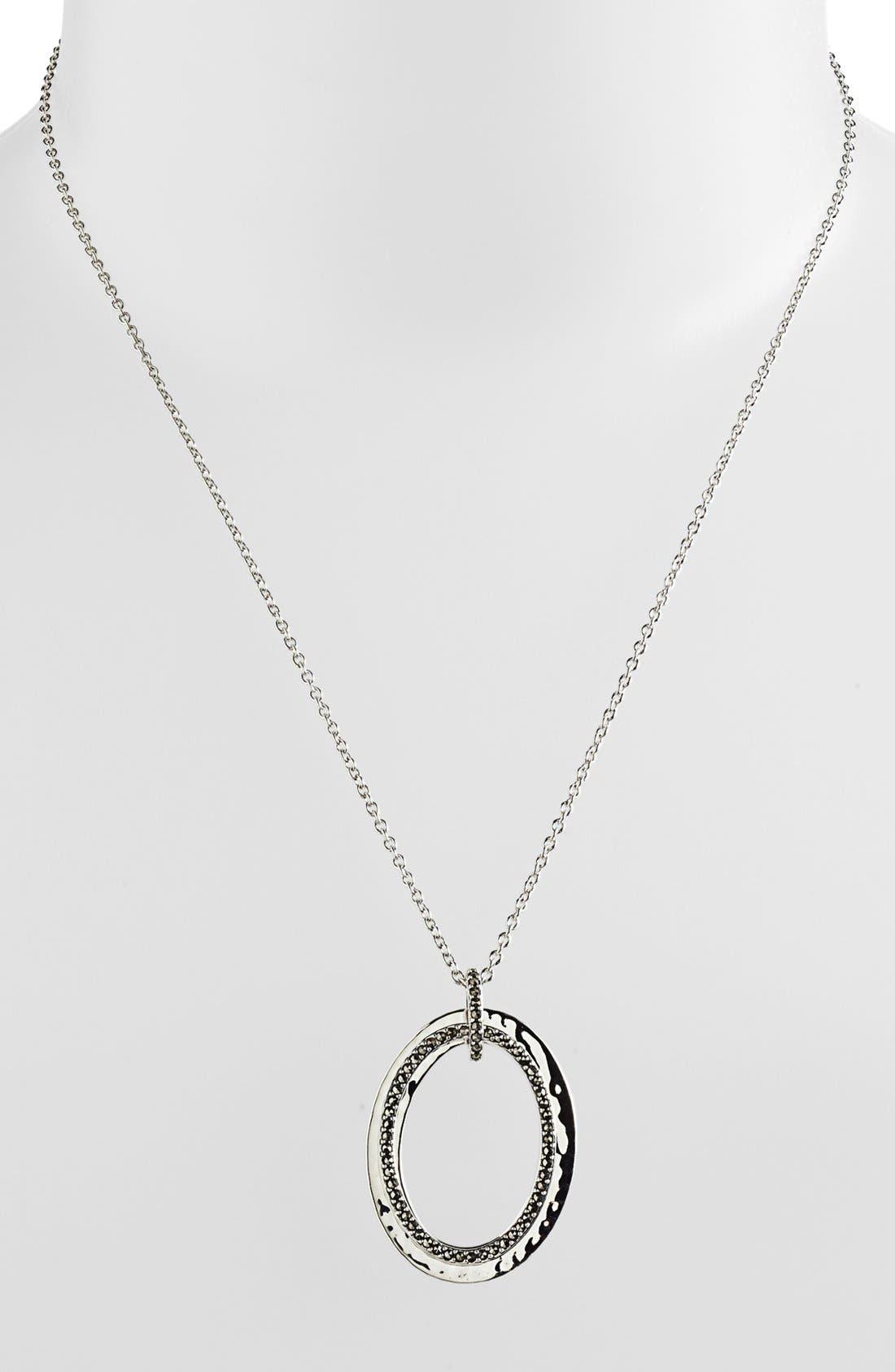 Alternate Image 1 Selected - Judith Jack 'Halo' Pendant Necklace