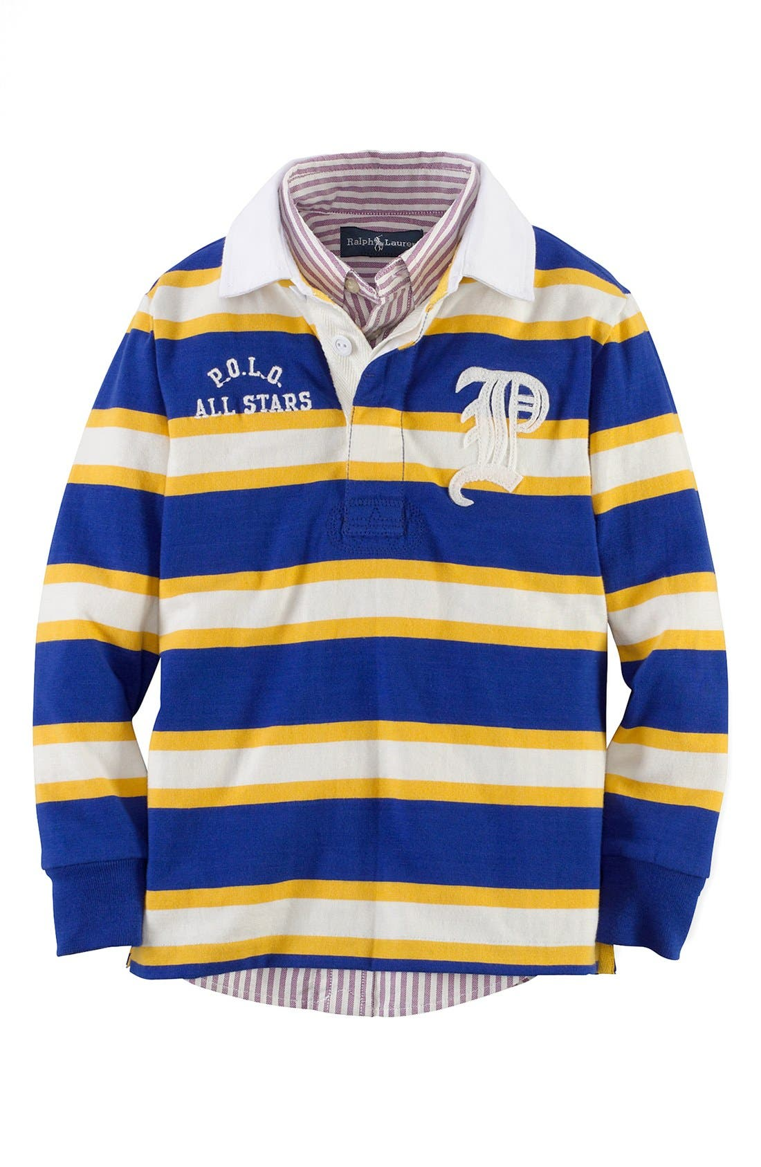 Alternate Image 1 Selected - Ralph Lauren Rugby Polo (Toddler Boys)