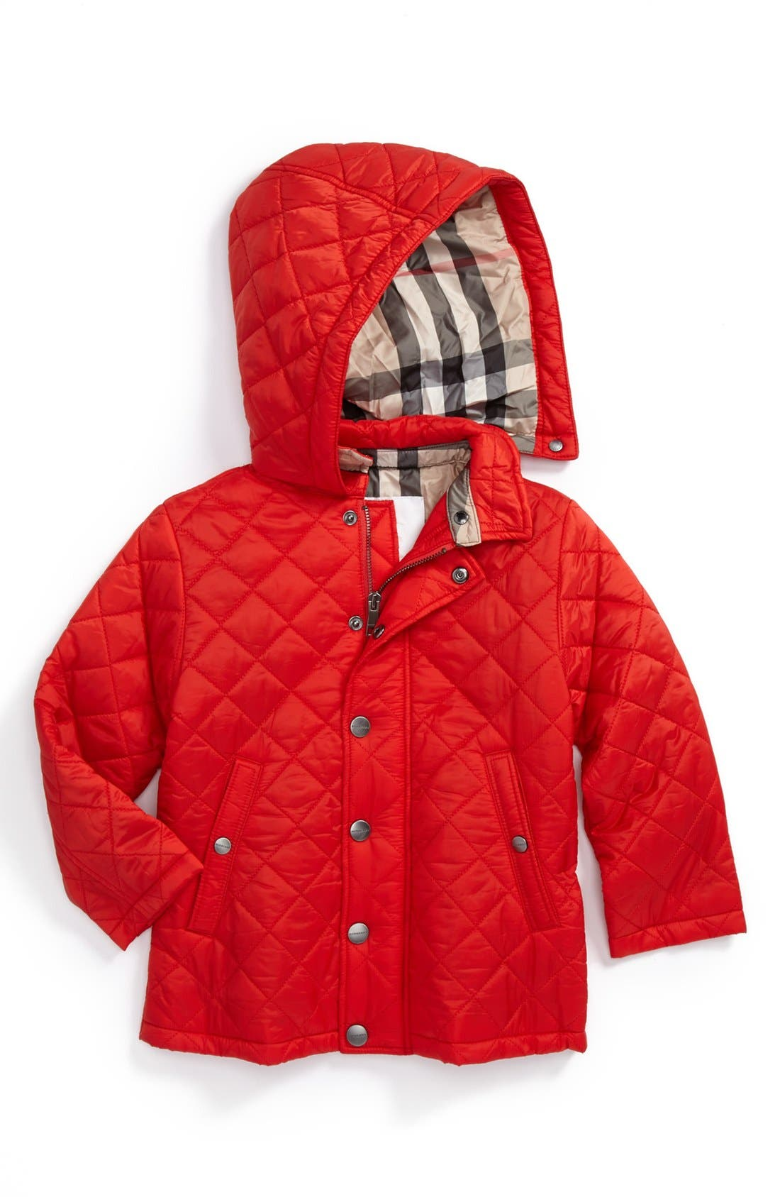 Main Image - Burberry 'Jerry' Quilted (Baby Boys)