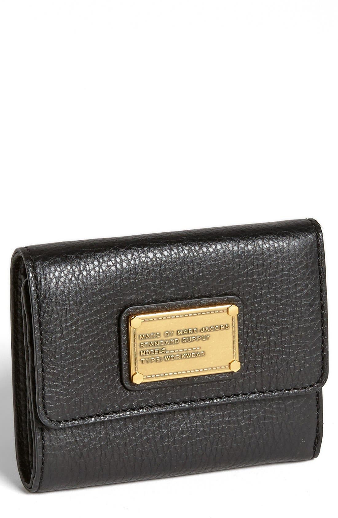 Main Image - MARC BY MARC JACOBS 'Classic Q - New' Billfold Wallet
