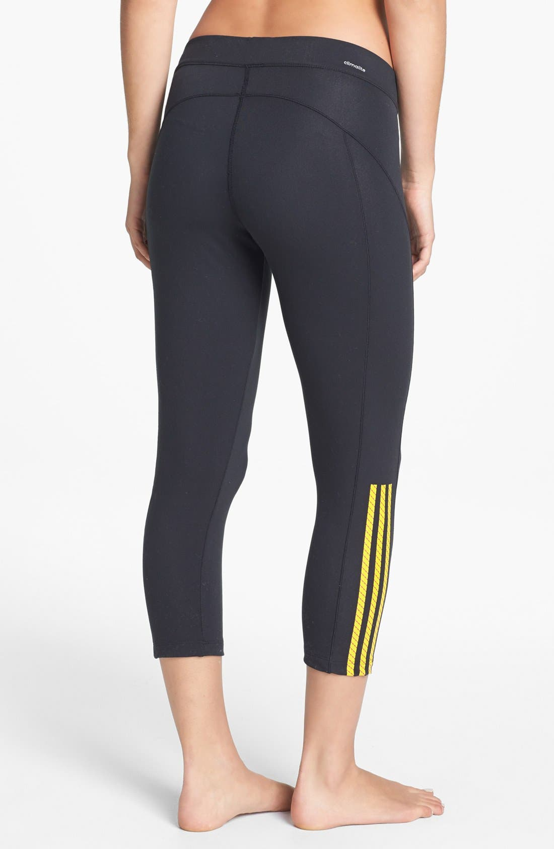 Alternate Image 2  - adidas 'Pursue' Capri Leggings