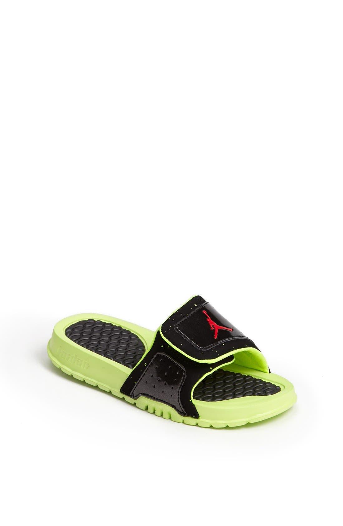 Main Image - Nike 'Jordan Hydro II' Sandal (Toddler & Little Kid)