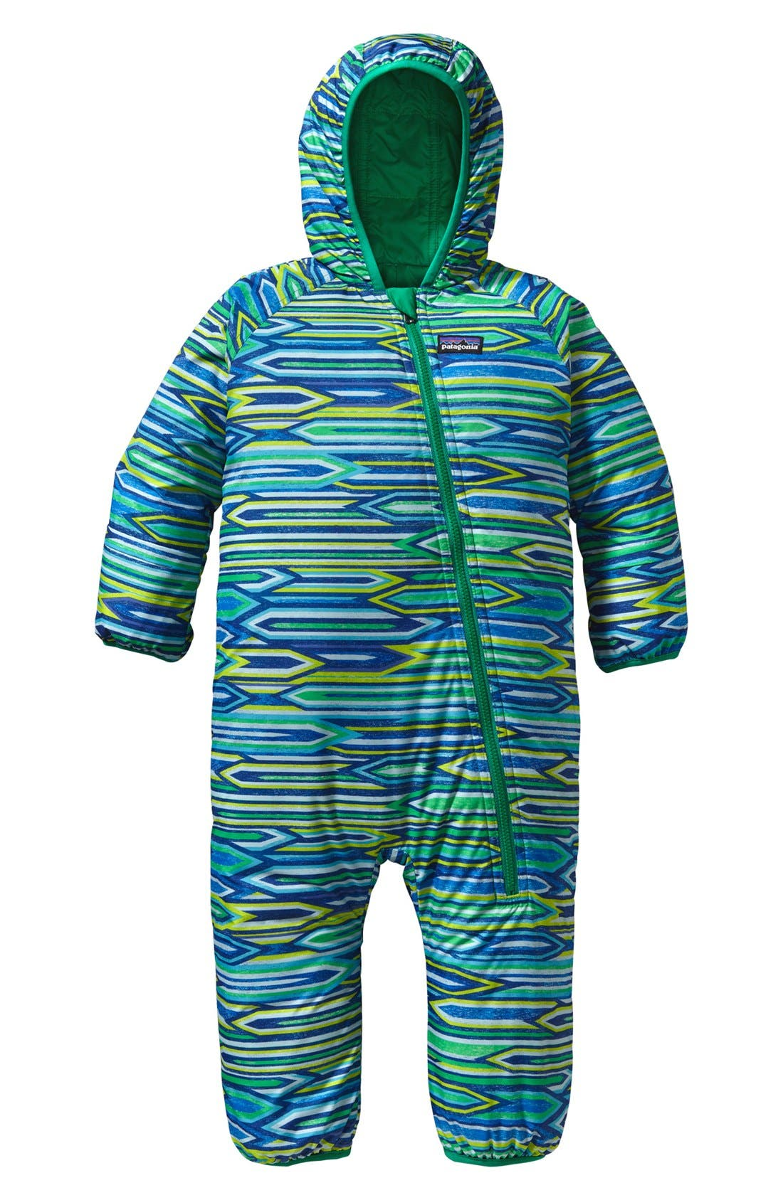 Alternate Image 1 Selected - Patagonia Reversible Bunting (Infant)
