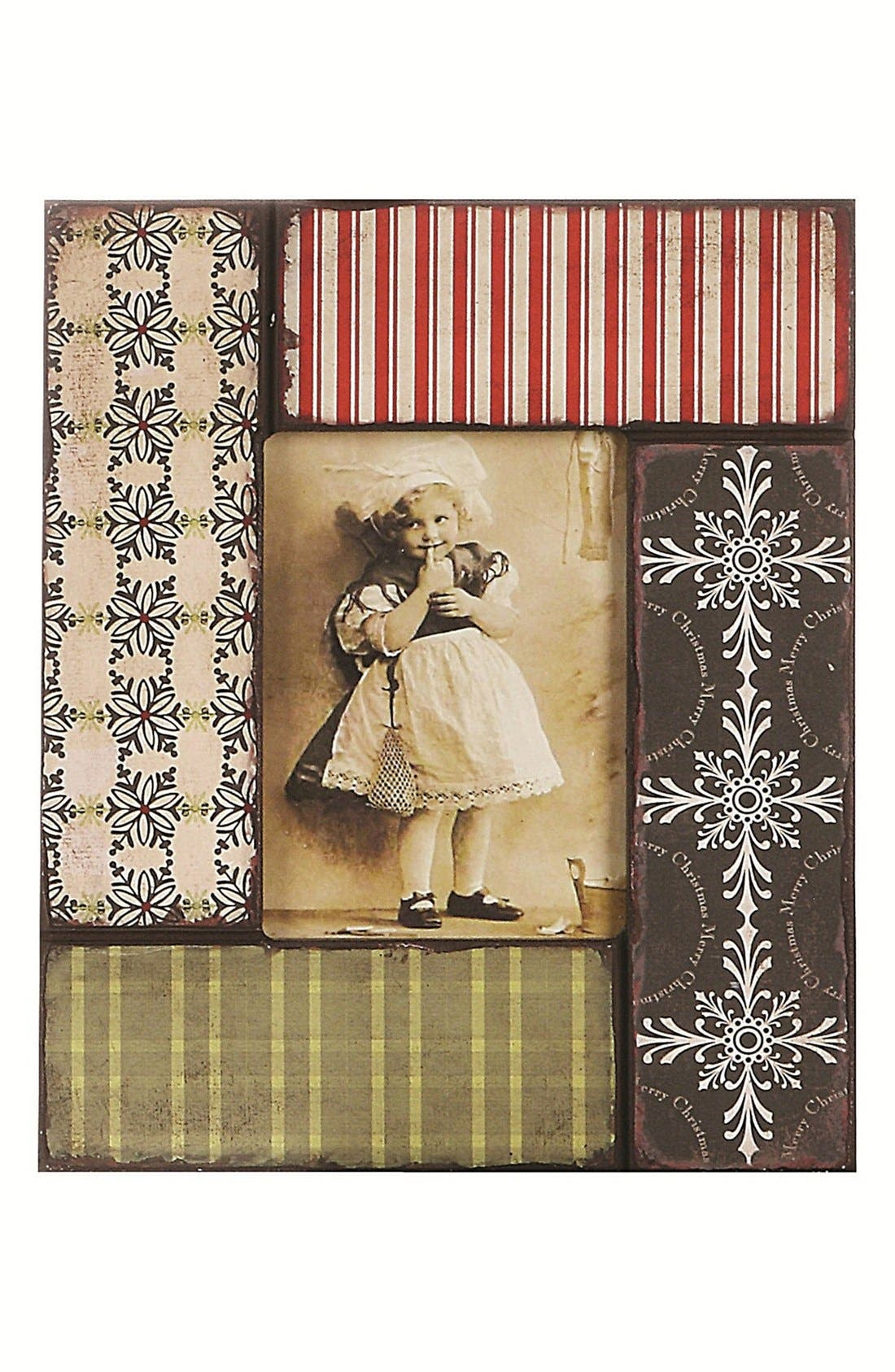 Alternate Image 1 Selected - Creative Co-Op Christmas Picture Frame