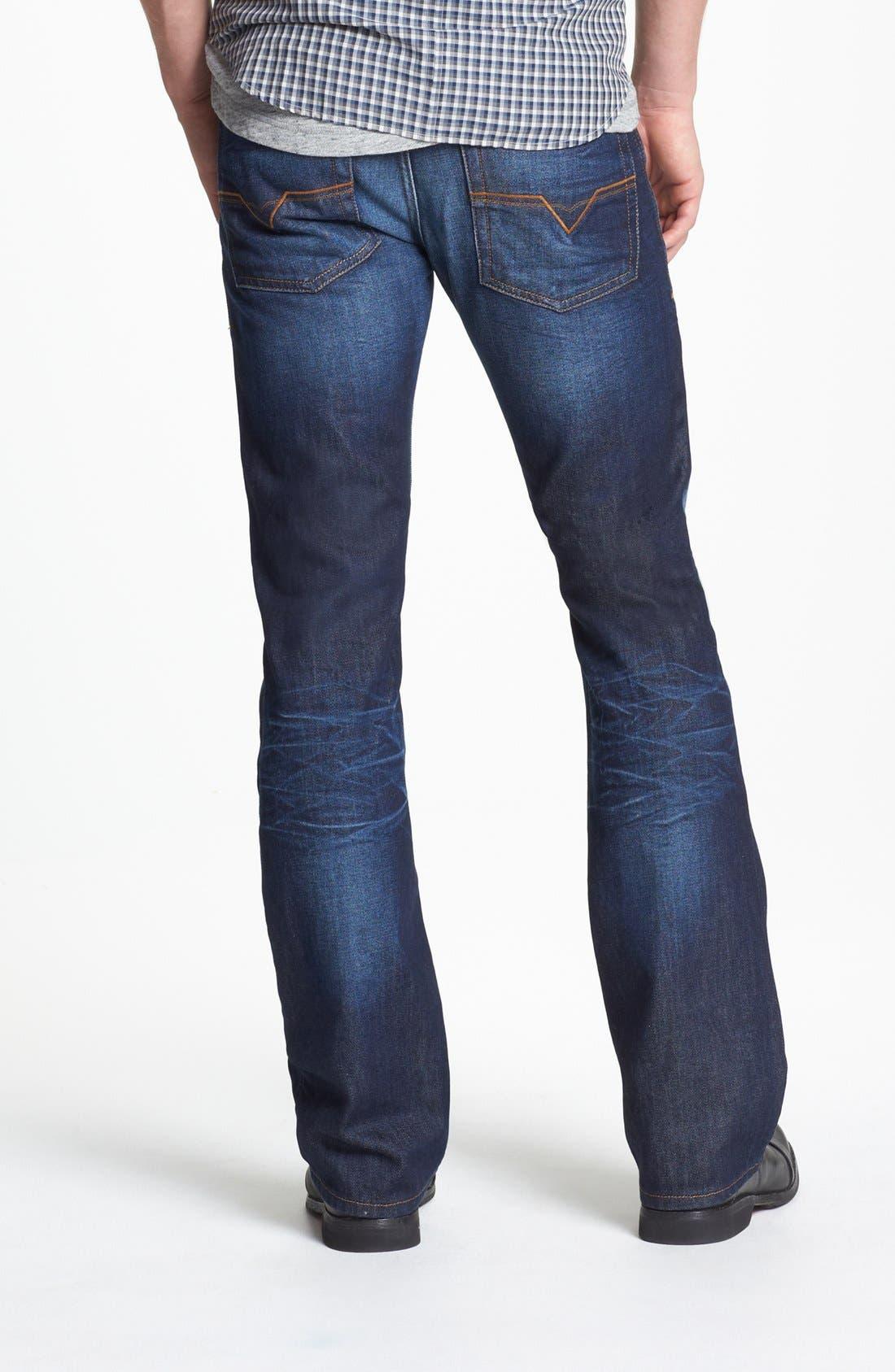 Alternate Image 2  - DIESEL® 'Zatiny' Micro Bootcut Jeans (73N)