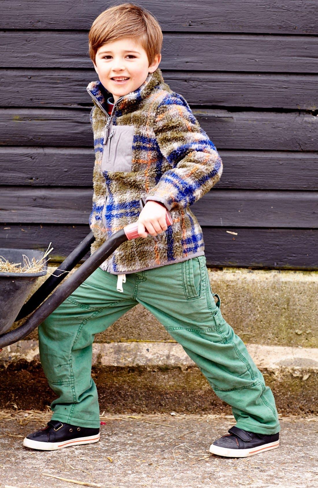 Alternate Image 2  - Mini Boden Convertible Jacket (Toddler Boys, Little Boys & Big Boys)