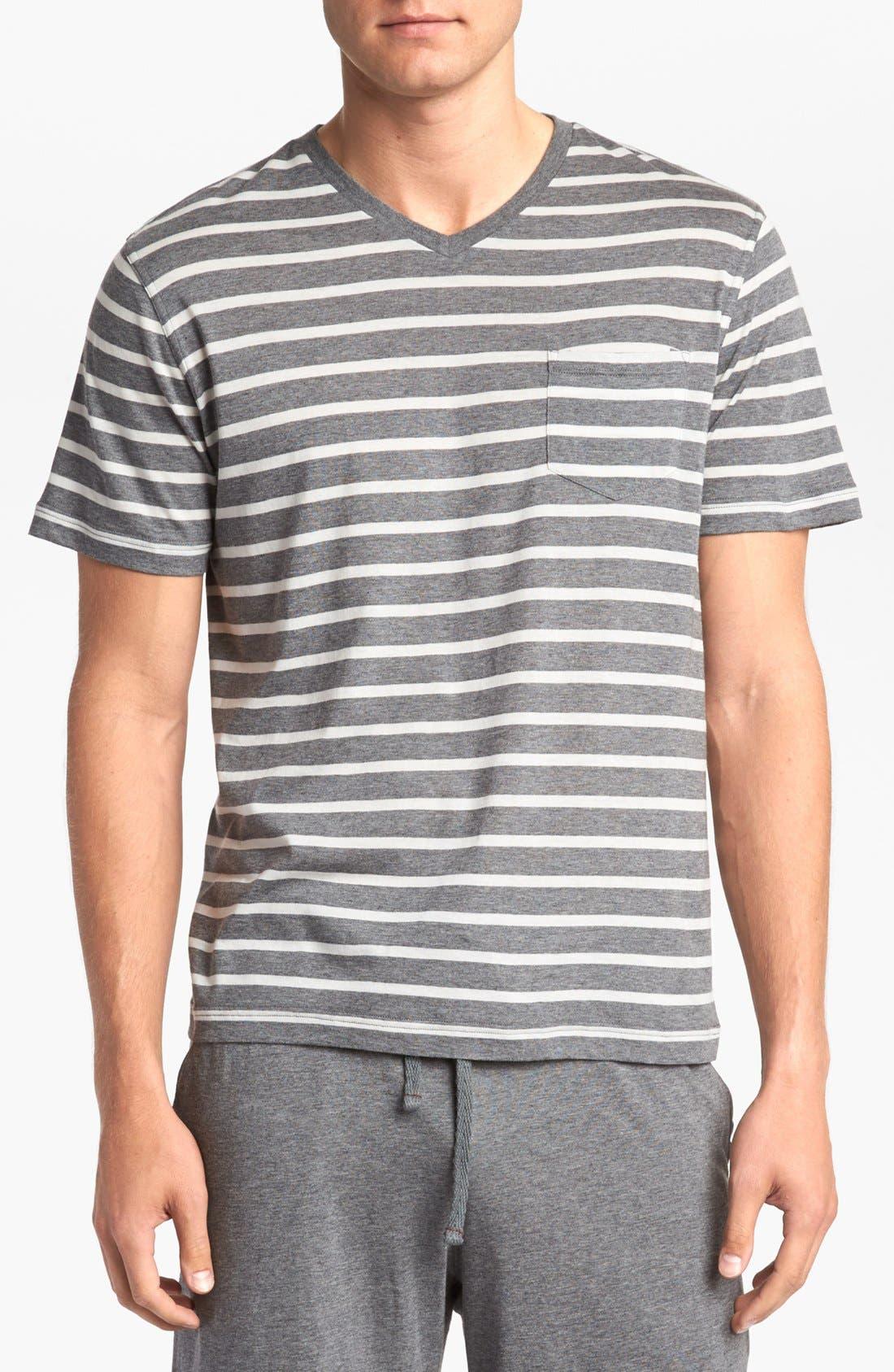 Alternate Image 1 Selected - Daniel Buchler Cotton/Modal Blend T-Shirt