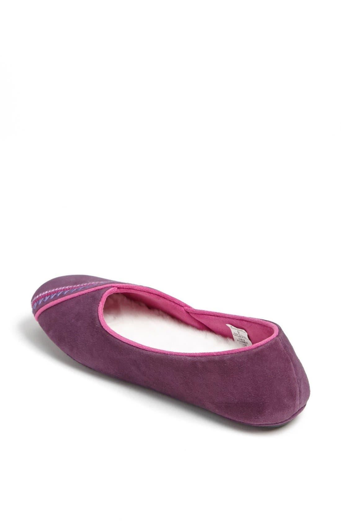 Alternate Image 2  - Acorn Ballet Slipper