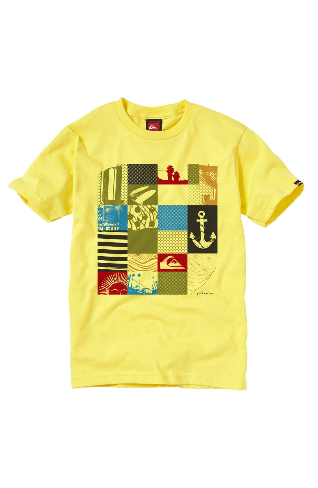 Alternate Image 1 Selected - Quiksilver 'Junk Drawer' T-Shirt (Big Boys)