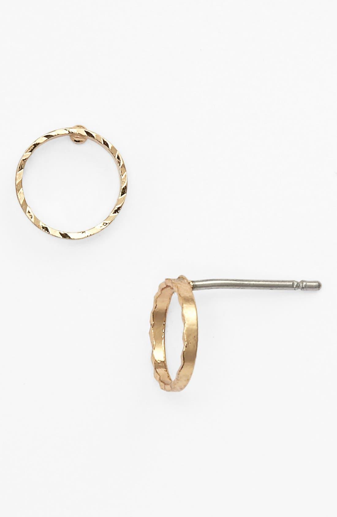 Main Image - BP. Open Circle Stud Earrings (Juniors)
