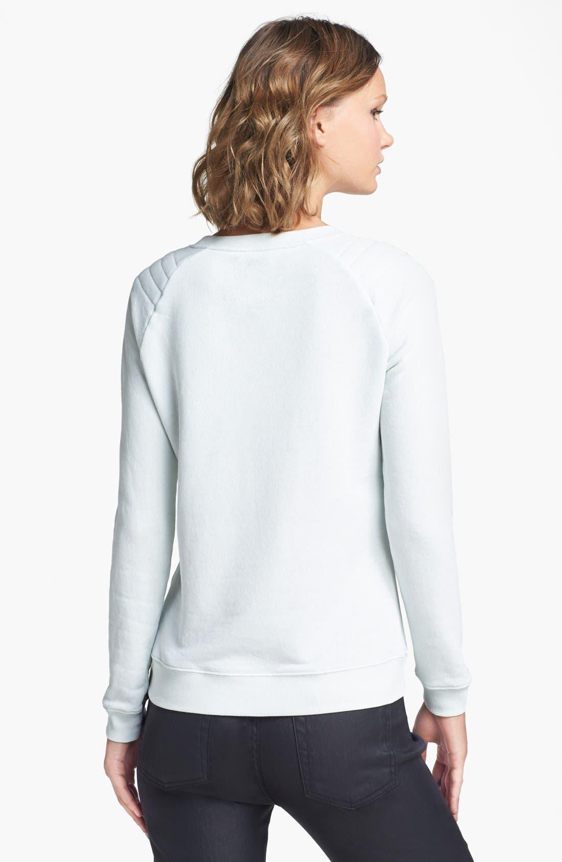 Alternate Image 2  - Zoe Karssen 'Born Lucky' Sweatshirt