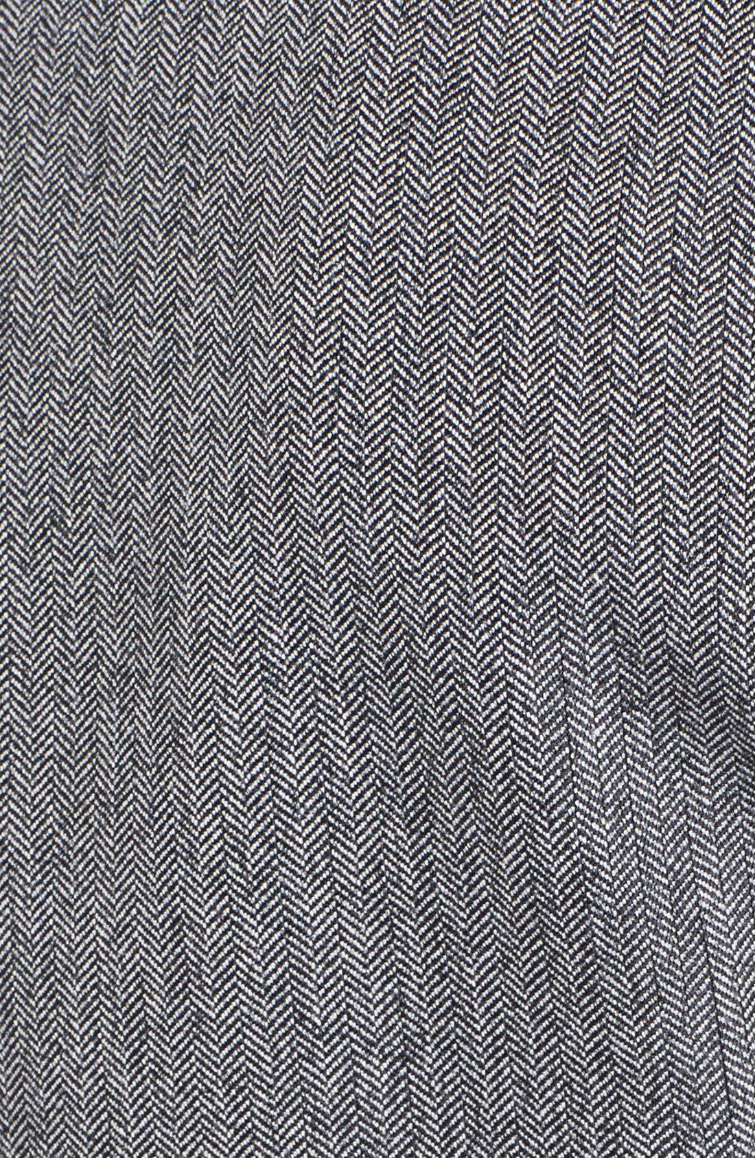 Alternate Image 3  - Anne Klein Herringbone Blazer (Petite)