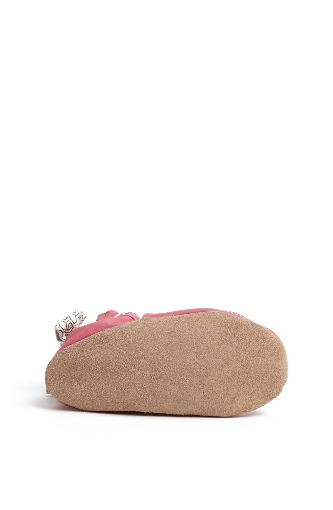 Alternate Image 4  - Robeez® 'Tweetin' Birds' Crib Shoe (Baby & Walker)