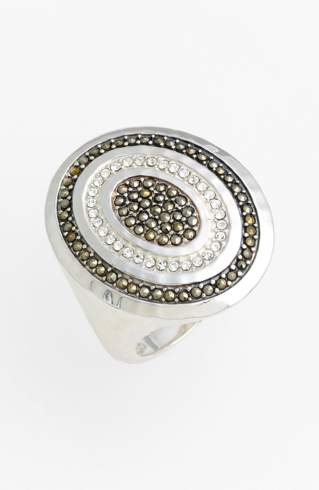Alternate Image 1 Selected - Judith Jack 'Halo' Oval Cocktail Ring