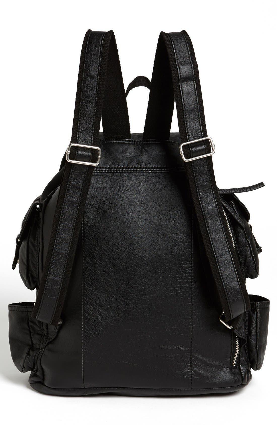 Alternate Image 4  - Cesca 'Lotsa Pockets' Backpack (Juniors) (Online Only)