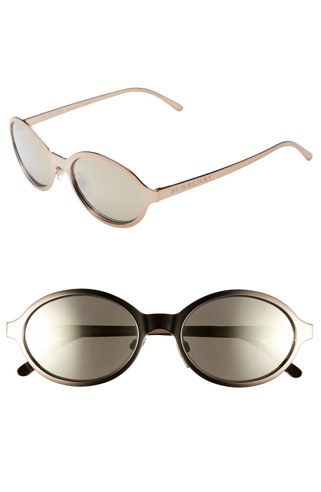 Alternate Image 1 Selected - Burberry 'Splash' 54mm Sunglasses