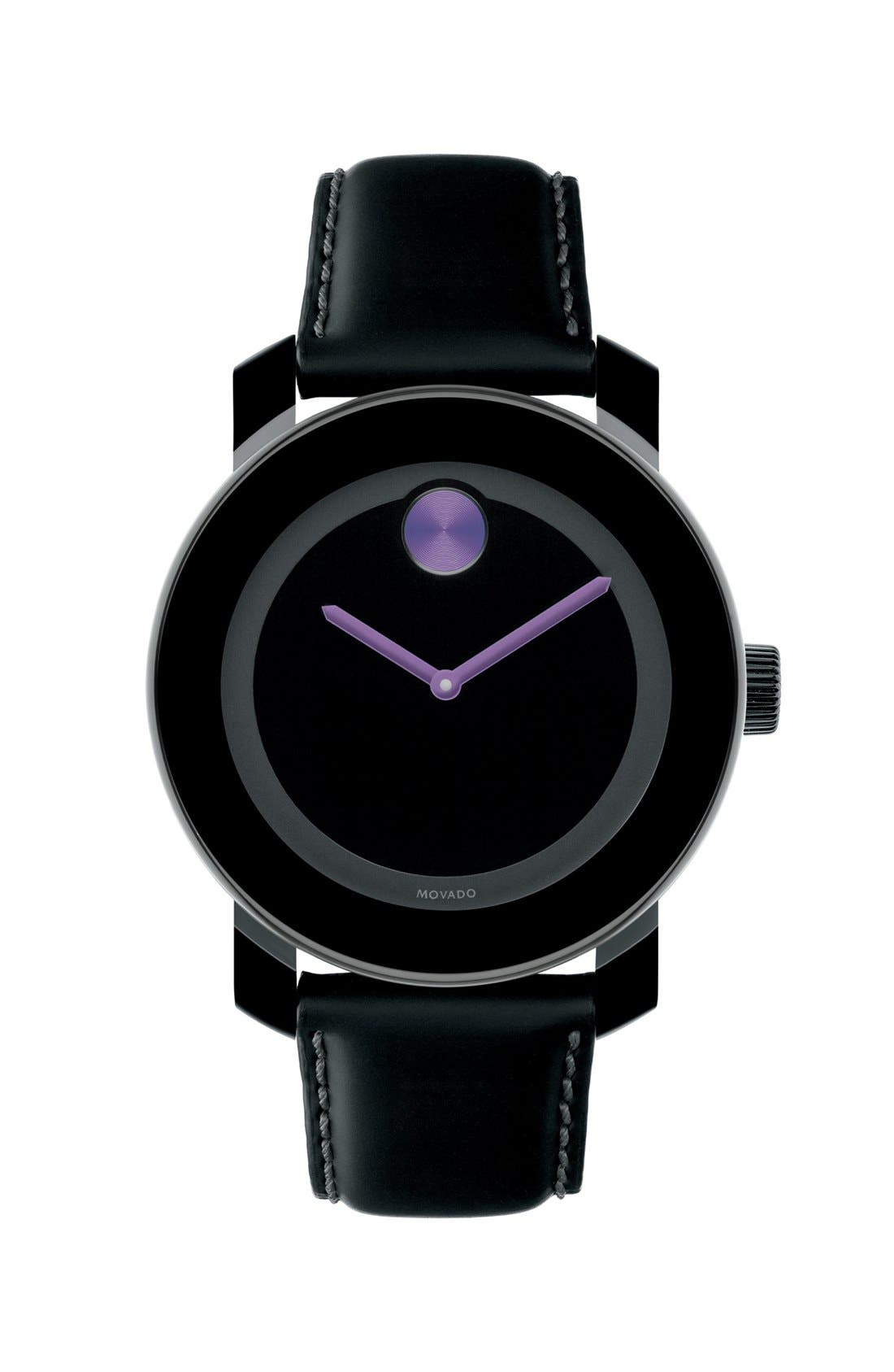Alternate Image 1 Selected - Movado 'Small Bold' Watch, 36mm