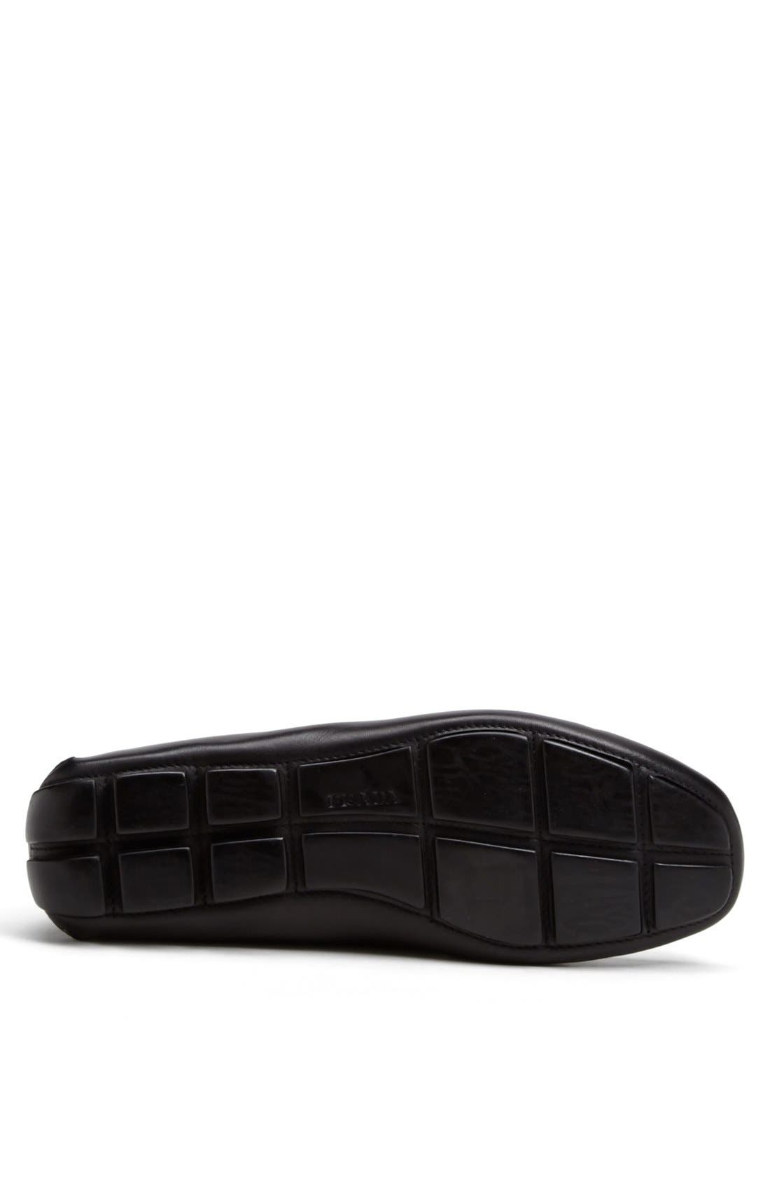Alternate Image 4  - Prada Logo Bit Driving Shoe (Men)