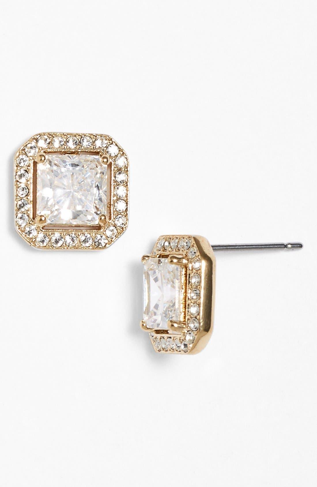 Alternate Image 1 Selected - Nadri Crystal Stud Earrings
