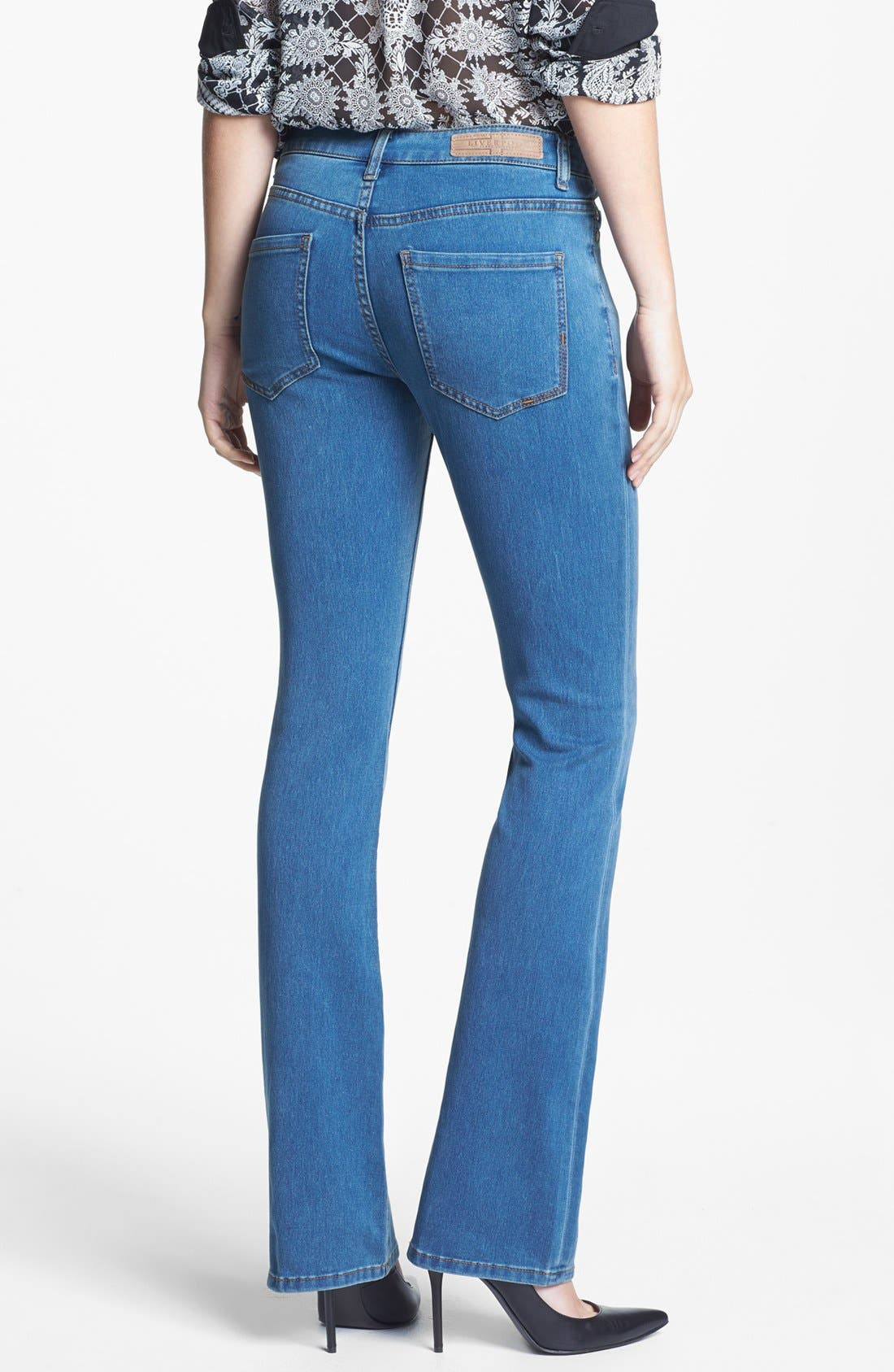 Alternate Image 2  - Liverpool Jeans Company 'Lucy' Stretch Bootcut Jeans (Regular & Petite)