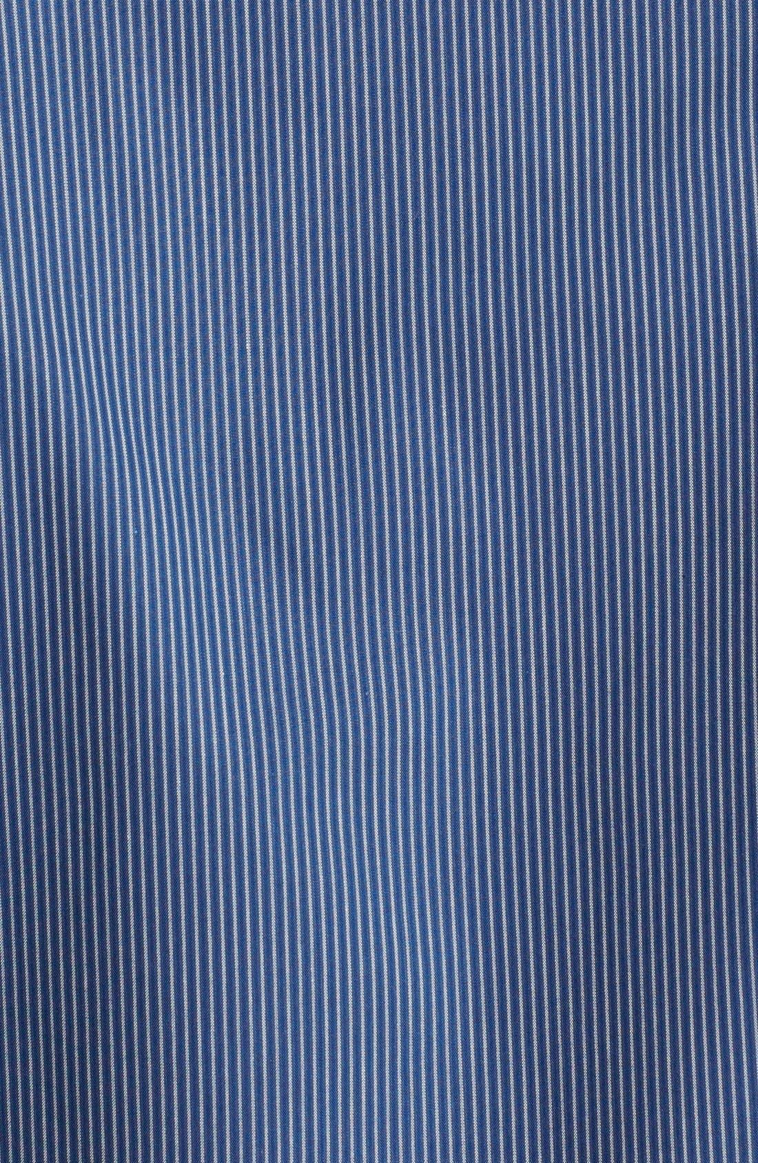 Alternate Image 3  - Nordstrom Smartcare™ Striped Regular Fit Sport Shirt