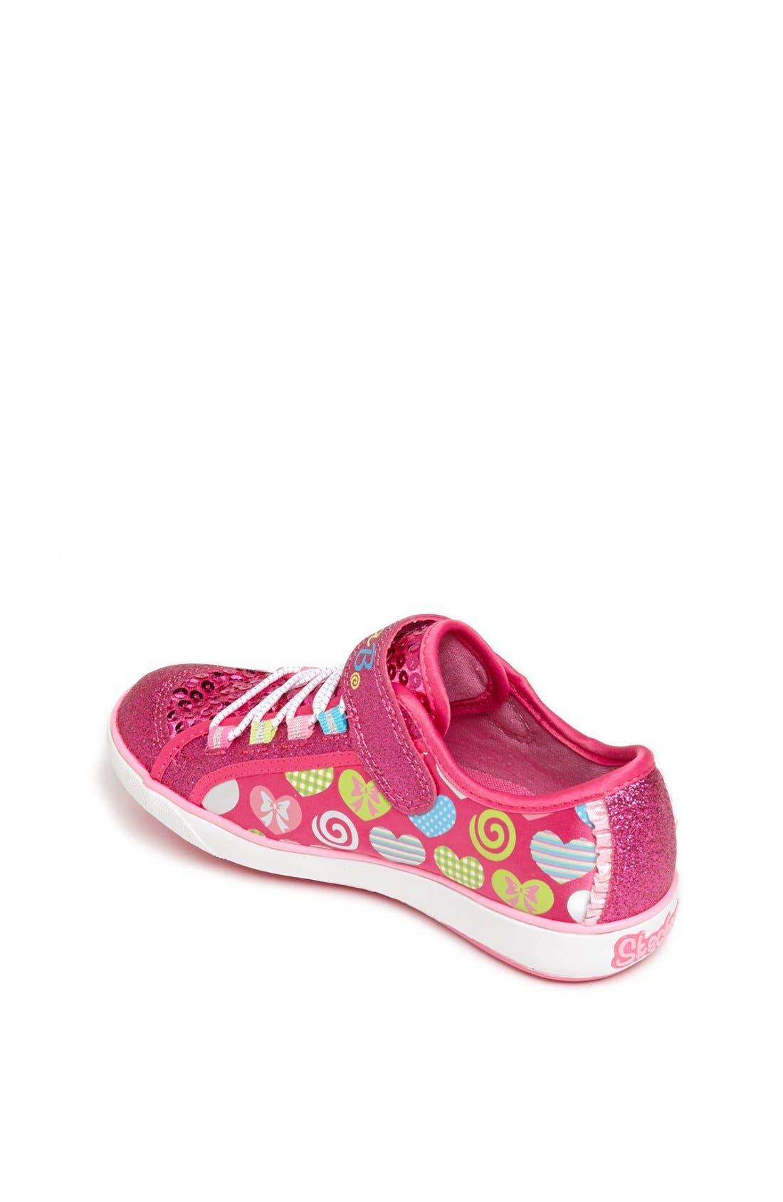 Alternate Image 2  - SKECHERS 'Bella Ballerina - Curtsies' Sneaker (Toddler, Little Kid & Big Kid)