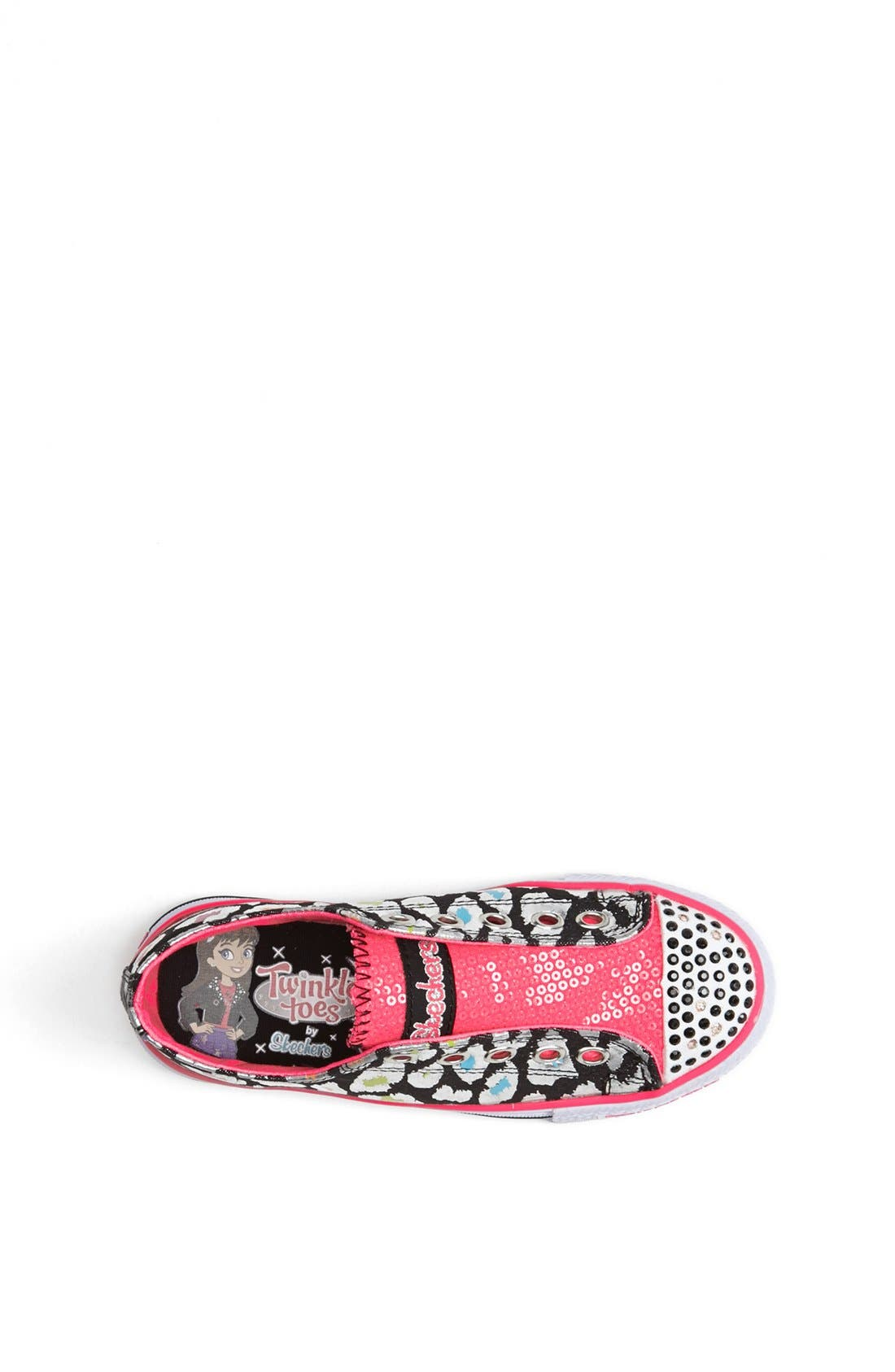 Alternate Image 3  - SKECHERS 'Twinkle Toes' Light-Up Sneaker (Toddler & Little Kid)