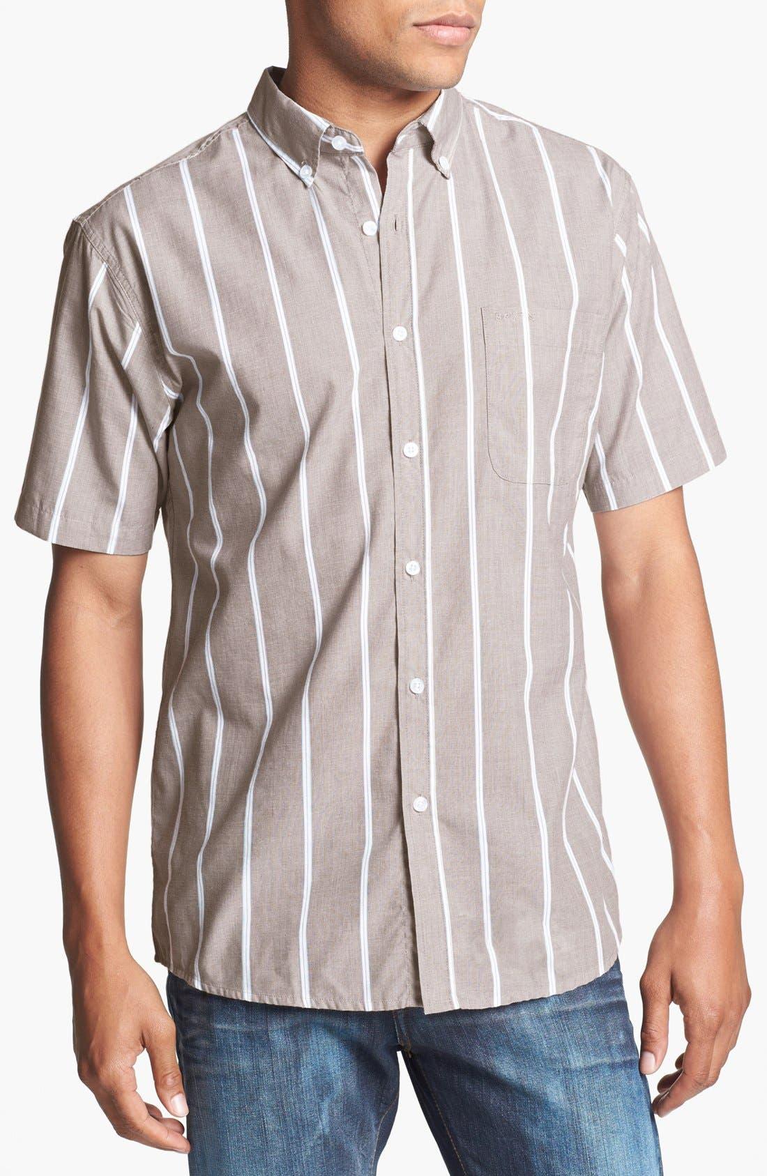 Main Image - Brixton 'Baylor' Stripe Oxford Shirt