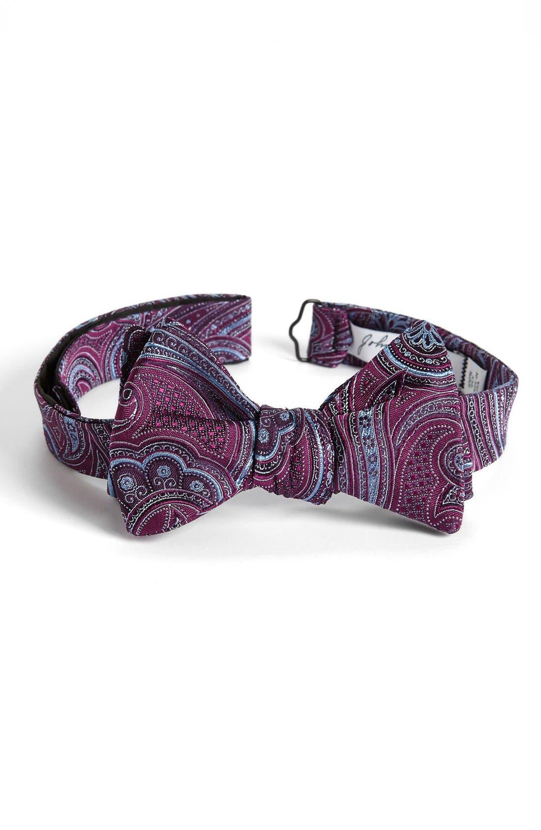 Alternate Image 1 Selected - John W. Nordstrom® Silk Bow Tie