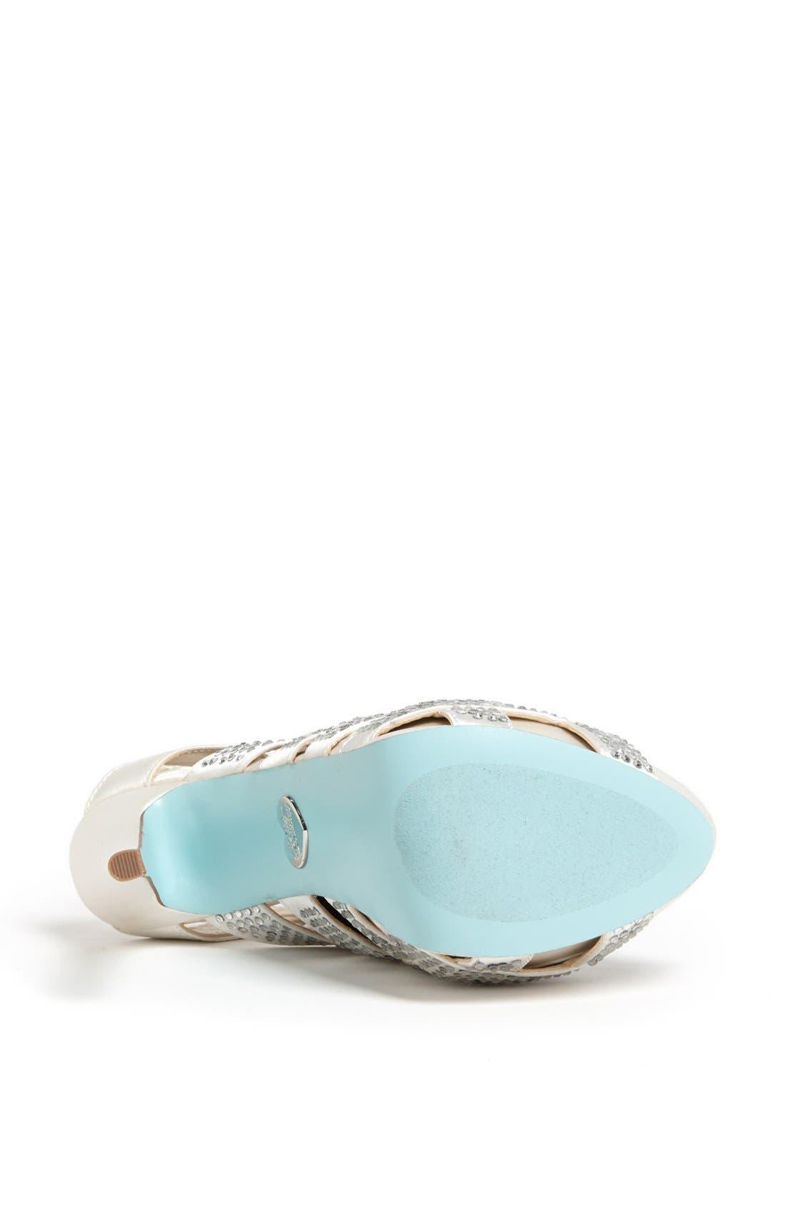 Alternate Image 4  - Blue by Betsey Johnson 'Love' Sandal