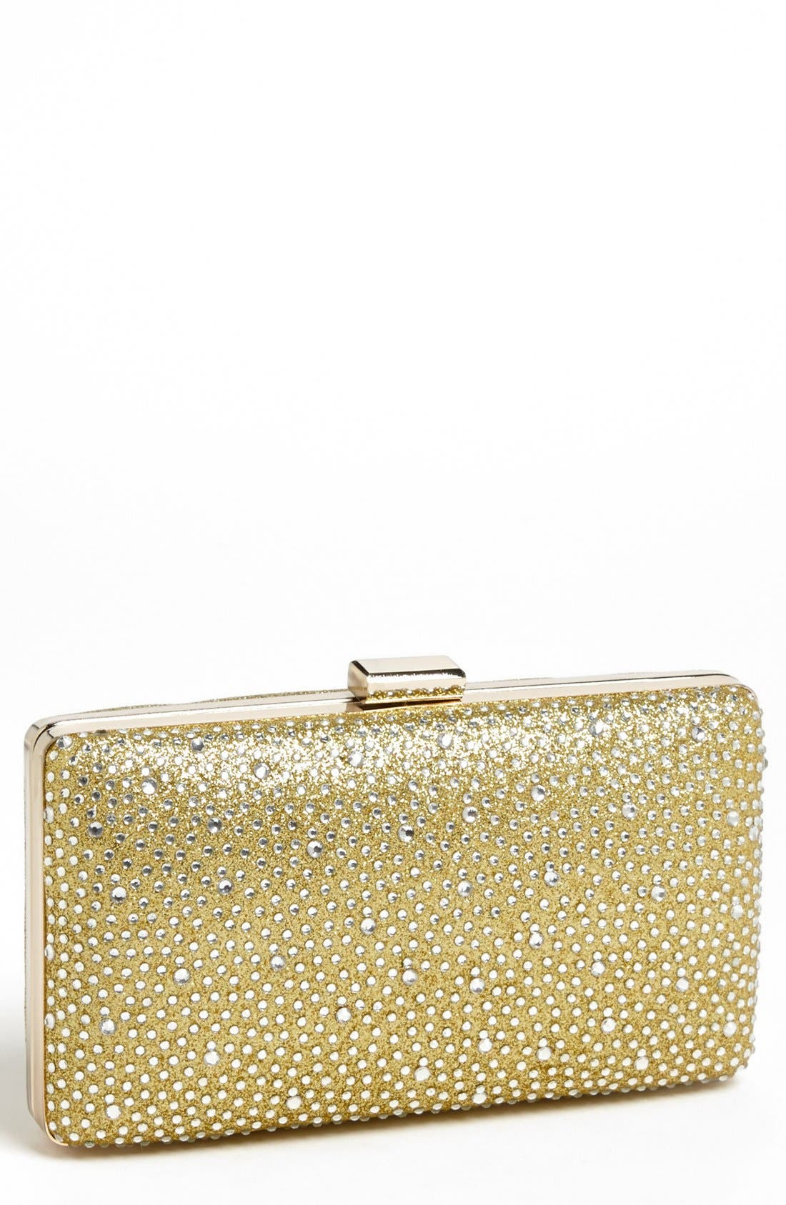 Main Image - Tasha Textured Sparkle Clutch