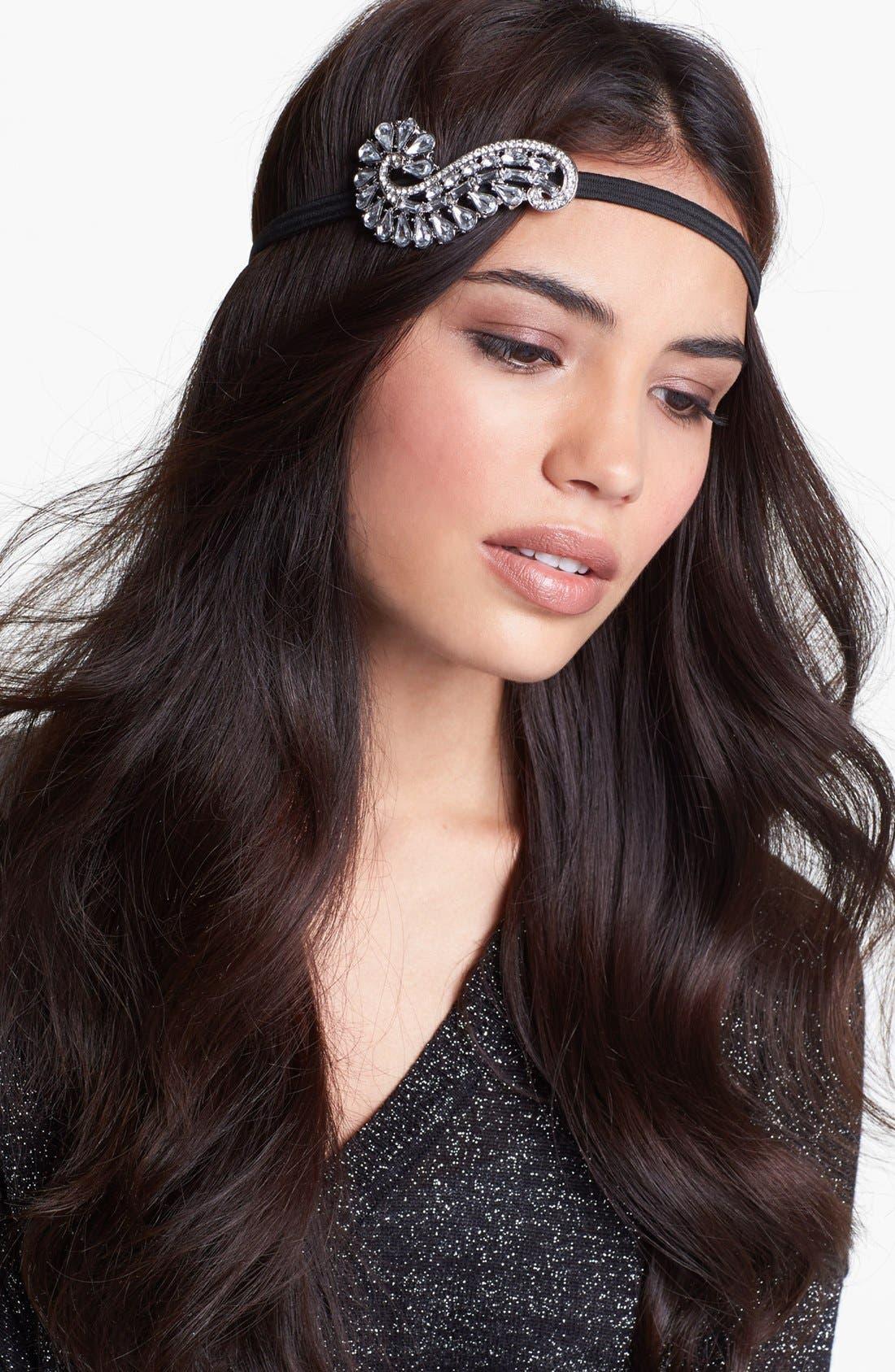 Alternate Image 1 Selected - Cara 'Virginia' Crystal Head Wrap