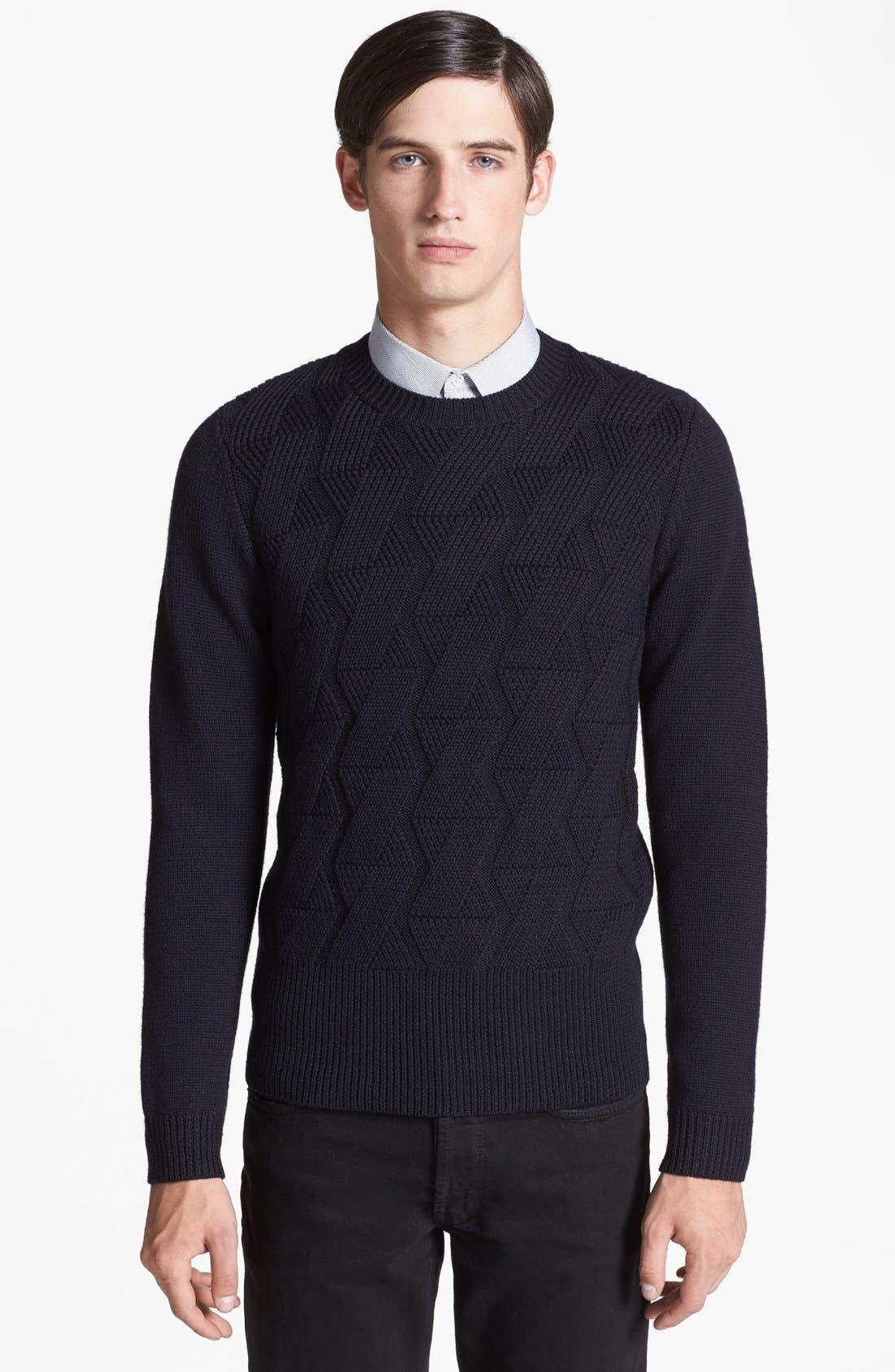 Alternate Image 1 Selected - sandro 'Oscillation' Sweater