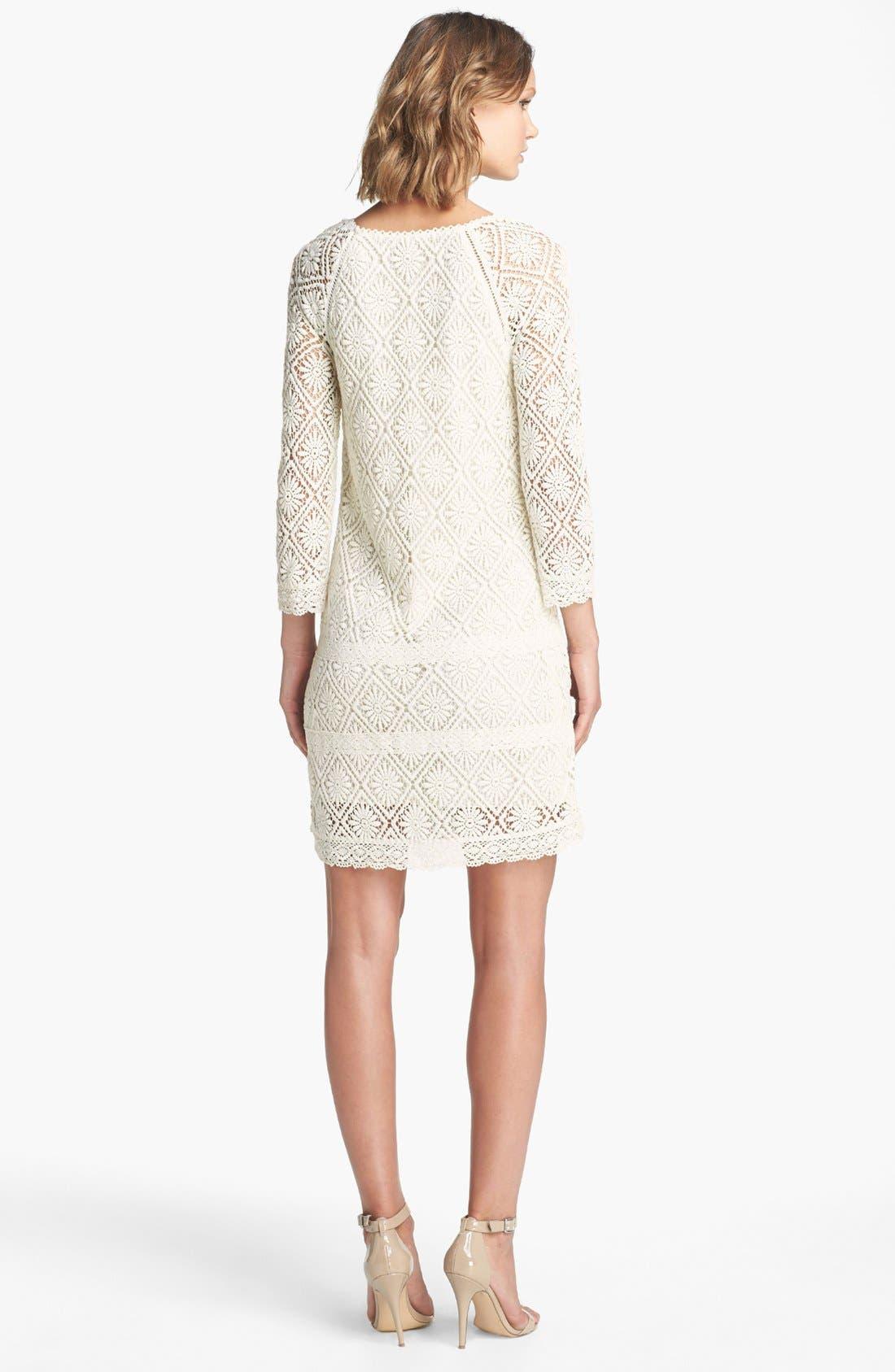Alternate Image 2  - Juicy Couture 'Grace' Lace Dress