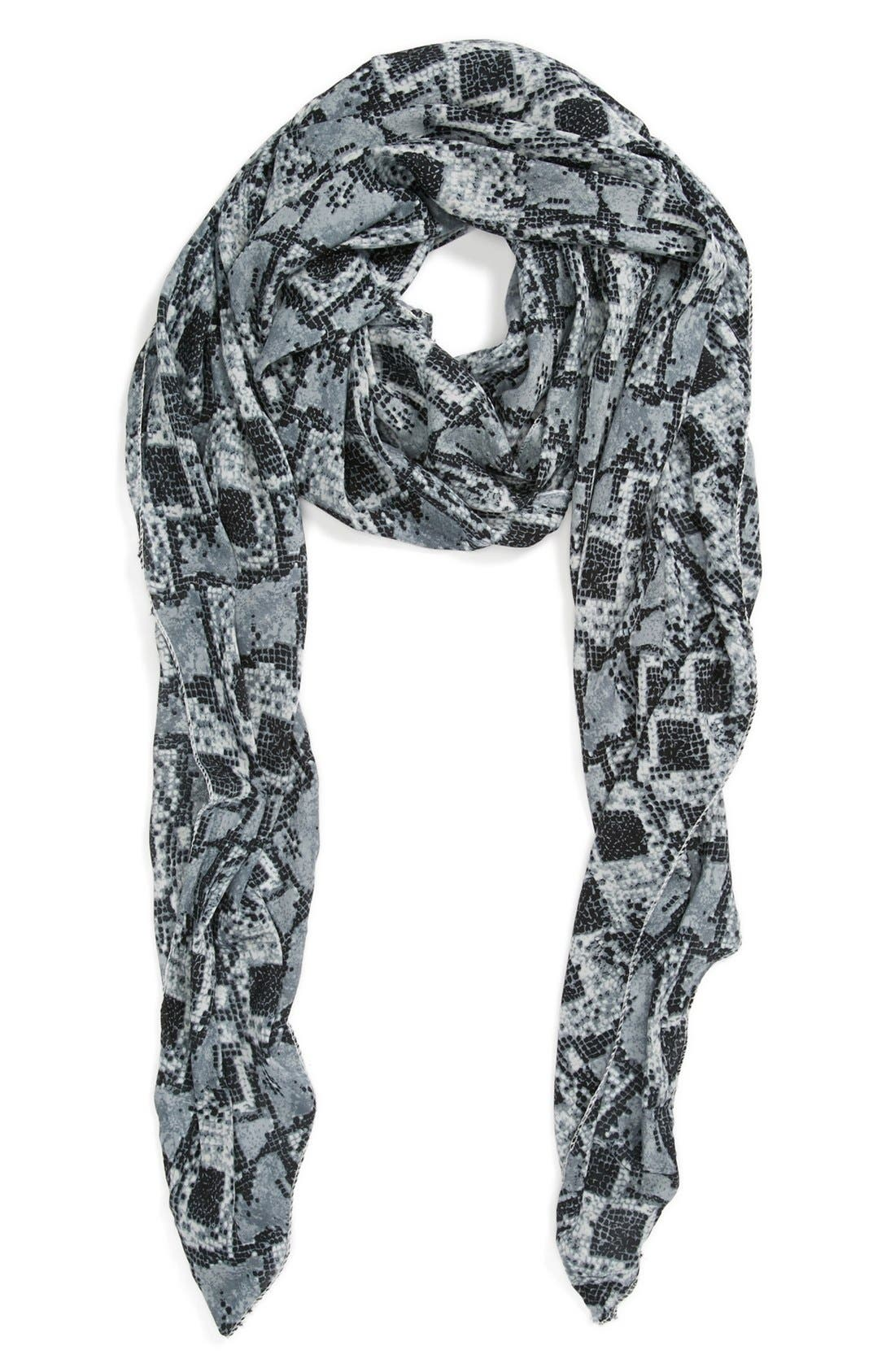 Alternate Image 1 Selected - POVERTY FLATS by rian Snake Camo Scarf