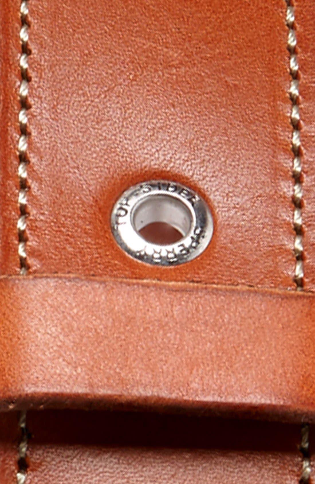 Alternate Image 2  - Sperry Top-Sider® Leather Belt