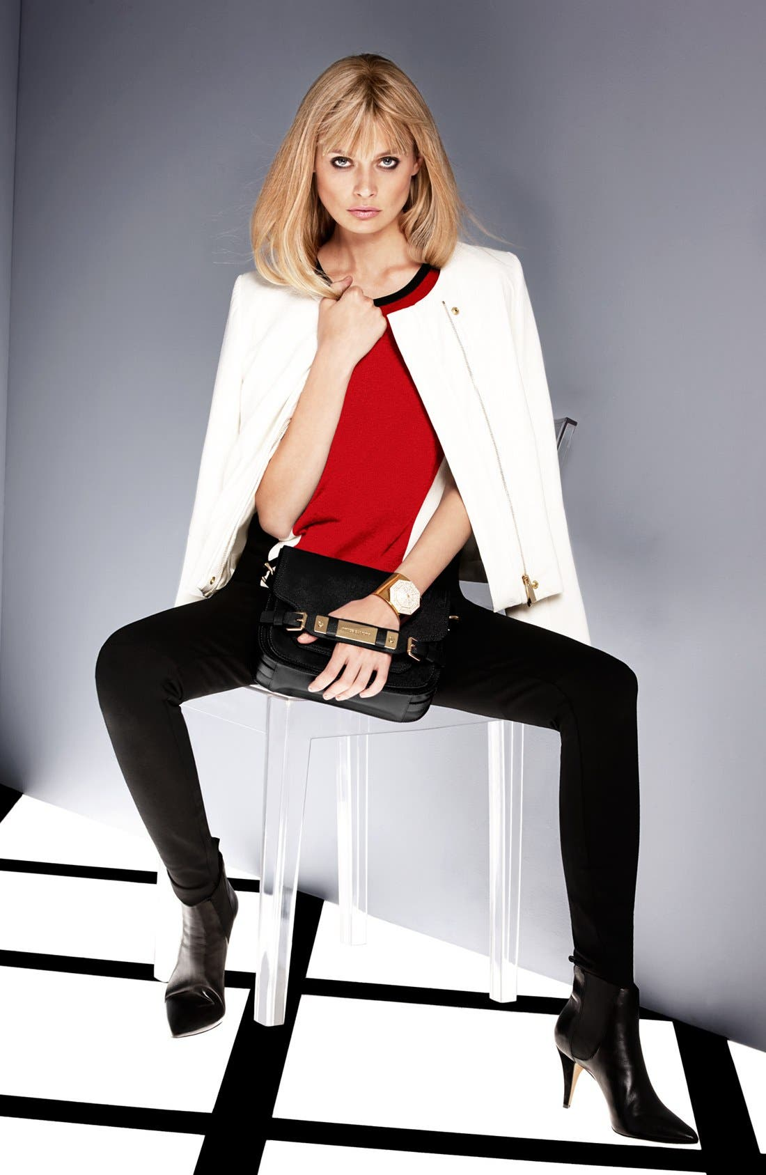 Alternate Image 3  - Vince Camuto Moto Jacket