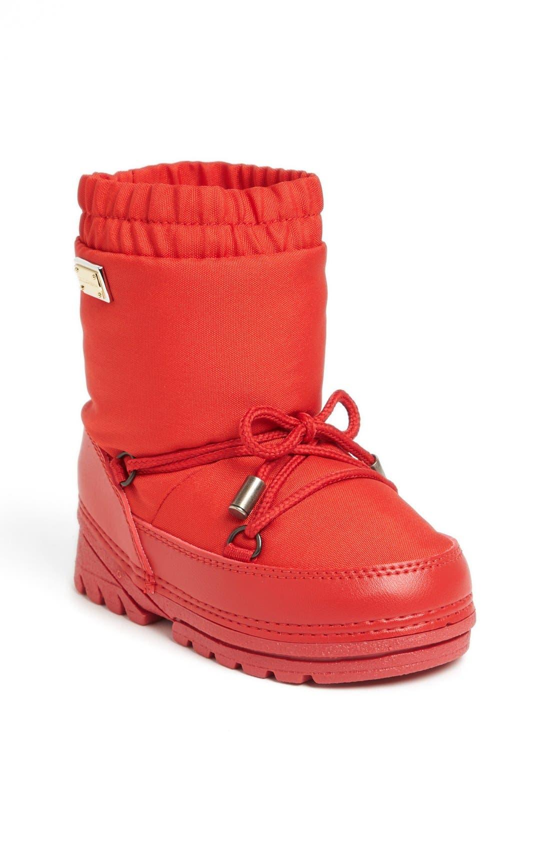 Alternate Image 1 Selected - Dolce&Gabanna Retro Boot (Walker & Toddler)