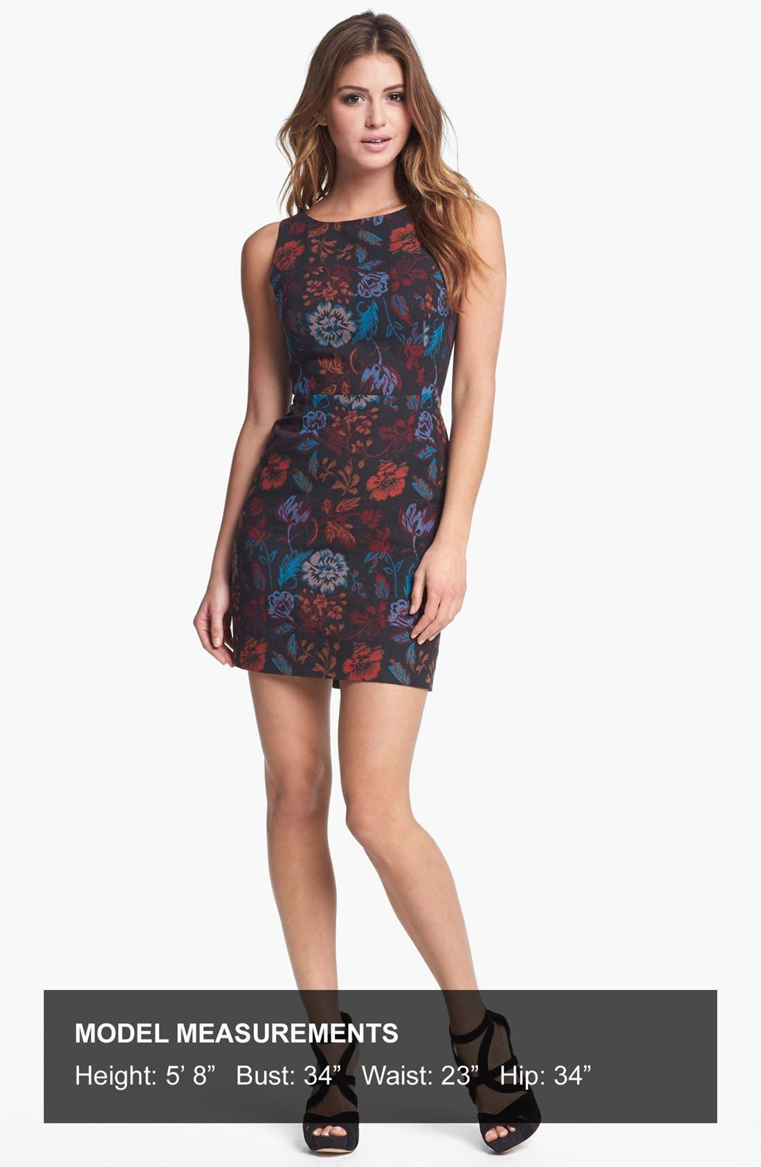 Alternate Image 4  - BB Dakota 'Leona' Brocade Cotton Sheath Dress