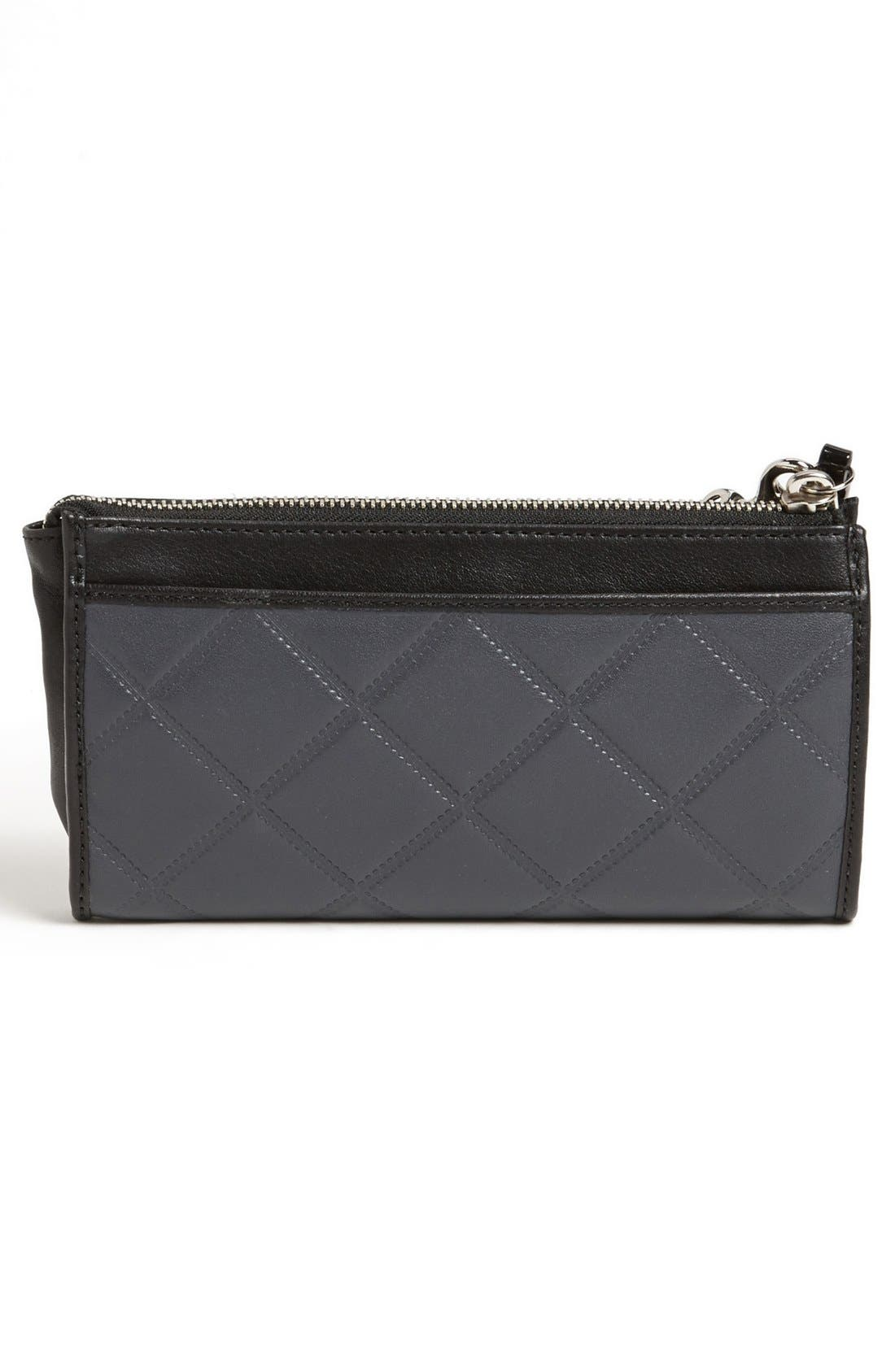 Alternate Image 4  - COACH 'Legacy - Zippy' Quilted Leather Wallet