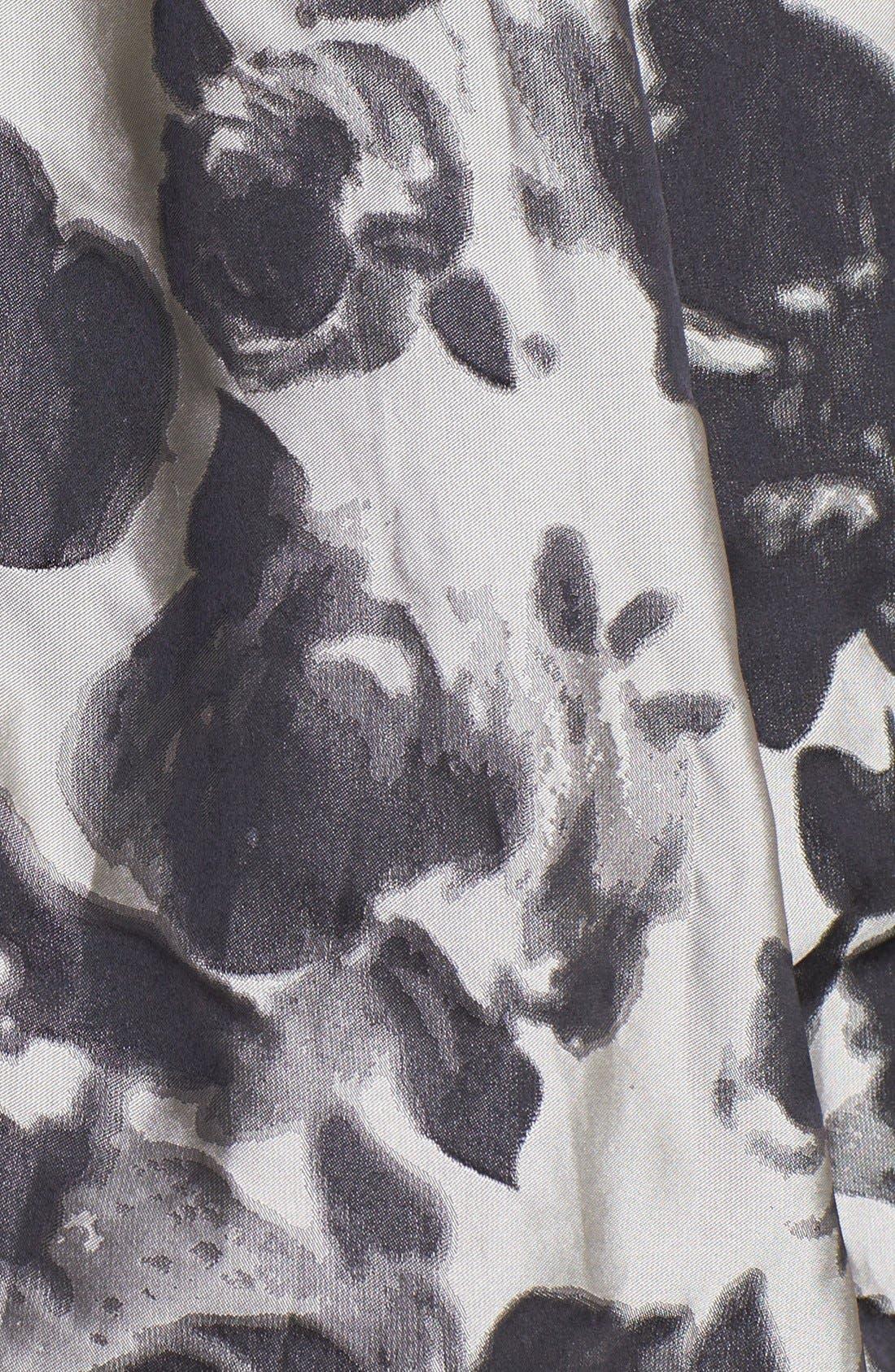 Alternate Image 3  - Eliza J Embellished Jacquard Fit & Flare Dress (Regular & Petite)