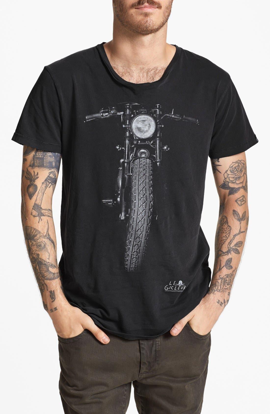 Alternate Image 1 Selected - Deus Ex Machina 'Gicleur Noir' T-Shirt